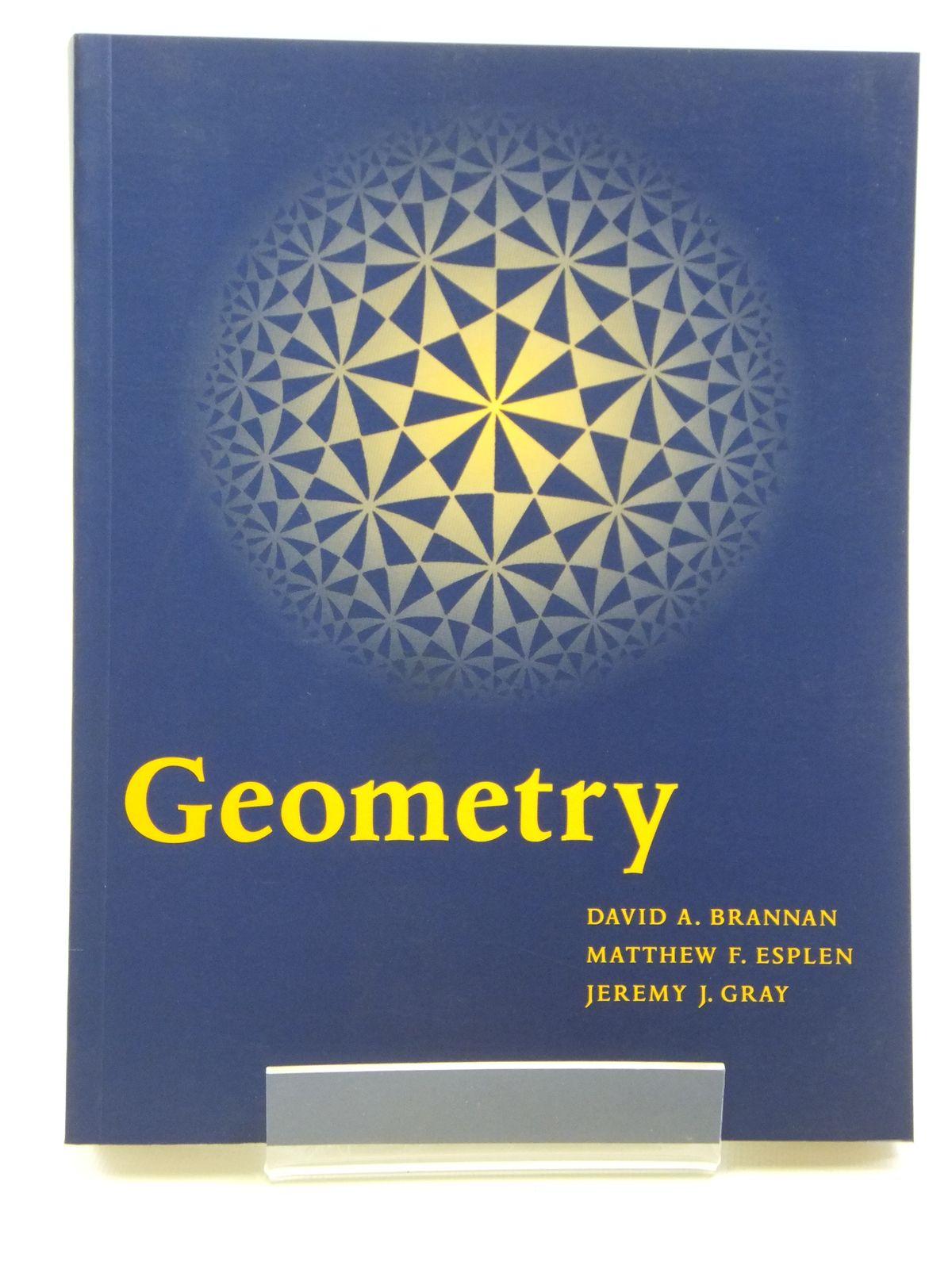Photo of GEOMETRY written by Brannan, David A.<br />Esplen, Matthew F.<br />Gray, Jeremy J. published by Cambridge University Press (STOCK CODE: 2121151)  for sale by Stella & Rose's Books