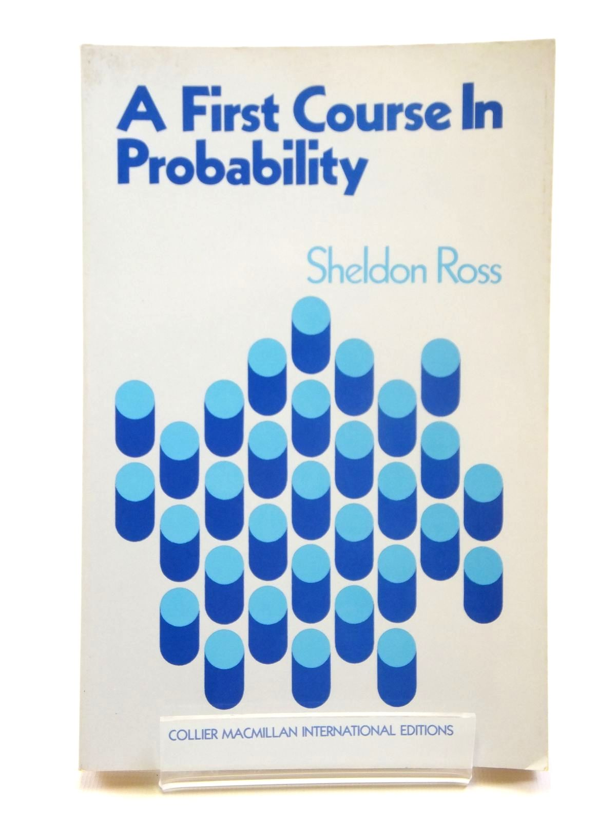 Photo of A FIRST COURSE IN PROBABILITY- Stock Number: 2121171
