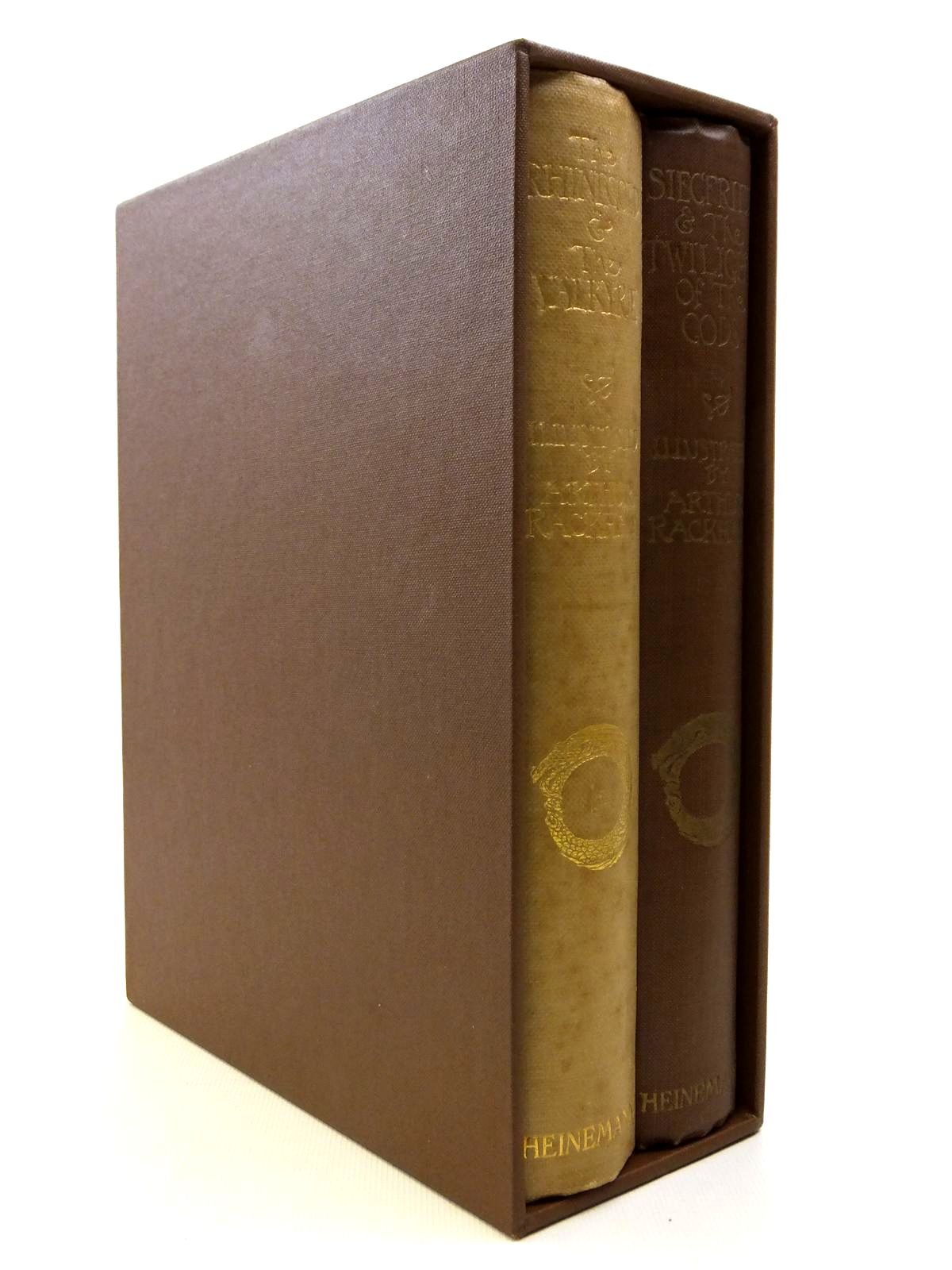 Photo of THE RHINEGOLD & THE VALKYRIE AND SIEGFRIED & THE TWILIGHT OF THE GODS (2 VOLUMES)- Stock Number: 2121192