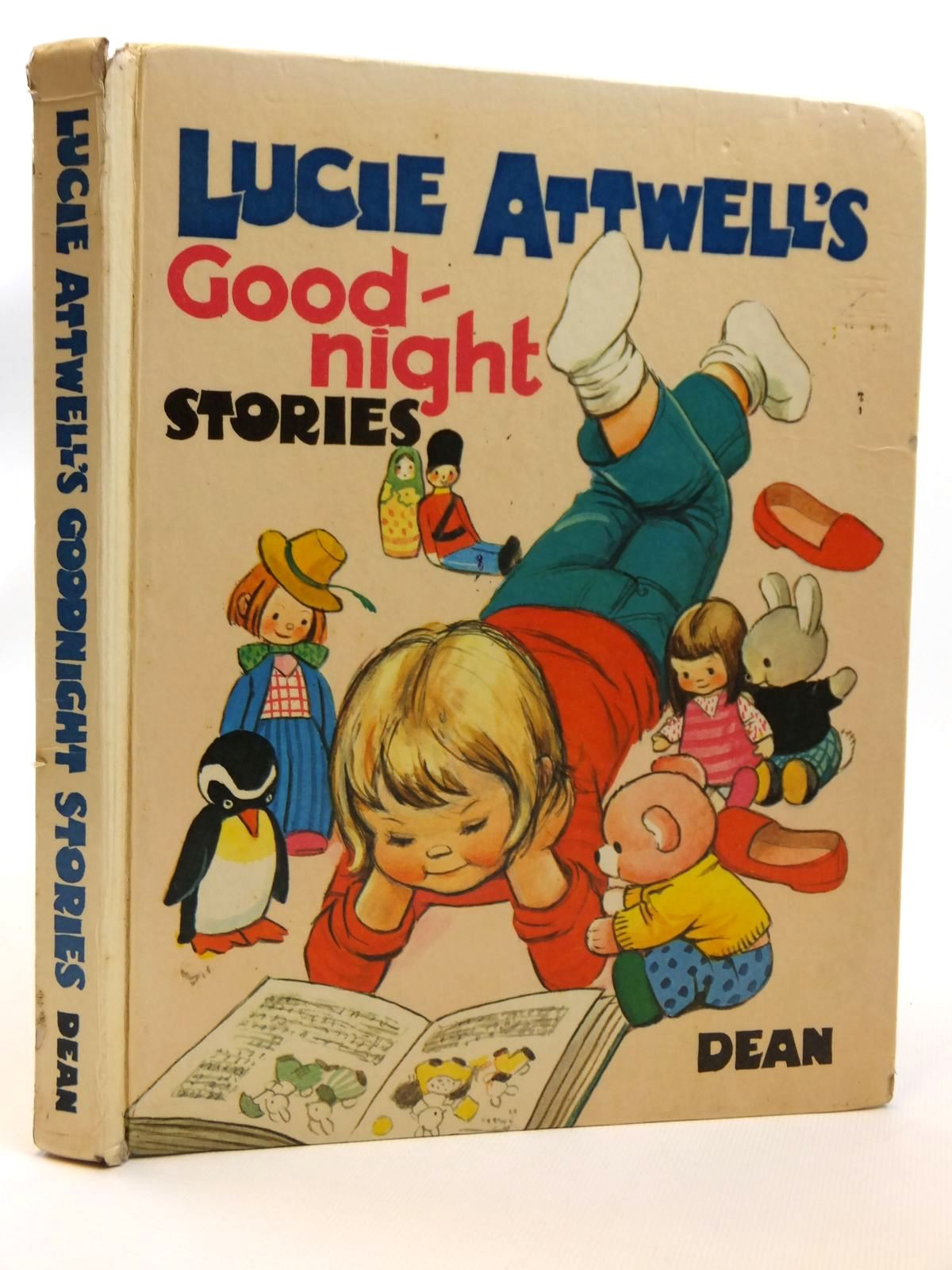 Photo of LUCIE ATTWELL'S GOOD-NIGHT STORIES written by Attwell, Mabel Lucie<br />Dowle, Barbara<br />Close, Eunice<br />Douglas, Penelope<br />et al,  illustrated by Attwell, Mabel Lucie published by Dean &amp; Son Ltd. (STOCK CODE: 2121465)  for sale by Stella & Rose's Books