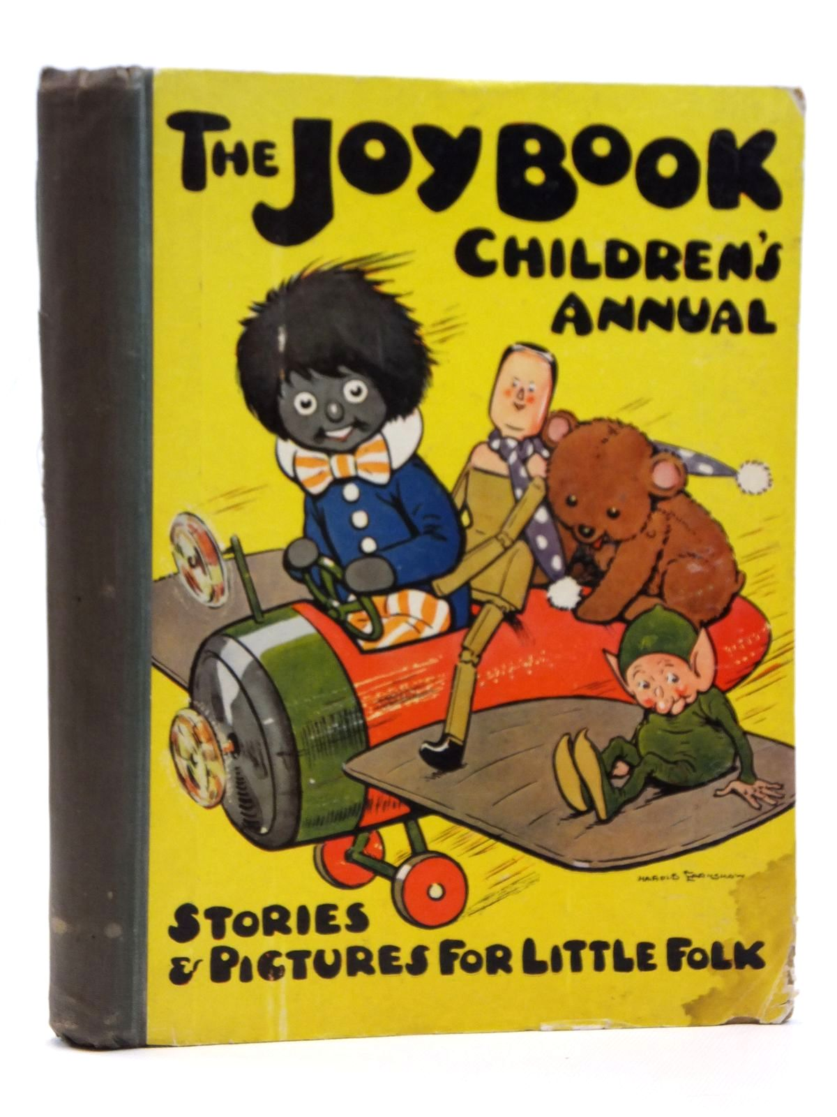 Photo of THE JOY BOOK CHILDREN'S ANNUAL 1924 written by Cowham, Hilda<br />Winchester, Clarence<br />Wynne, May<br />et al, illustrated by Cowham, Hilda<br />Browne, Jacques<br />Bestall, Alfred<br />et al., published by E. Hulton &amp; Co. Ltd. (STOCK CODE: 2121589)  for sale by Stella & Rose's Books