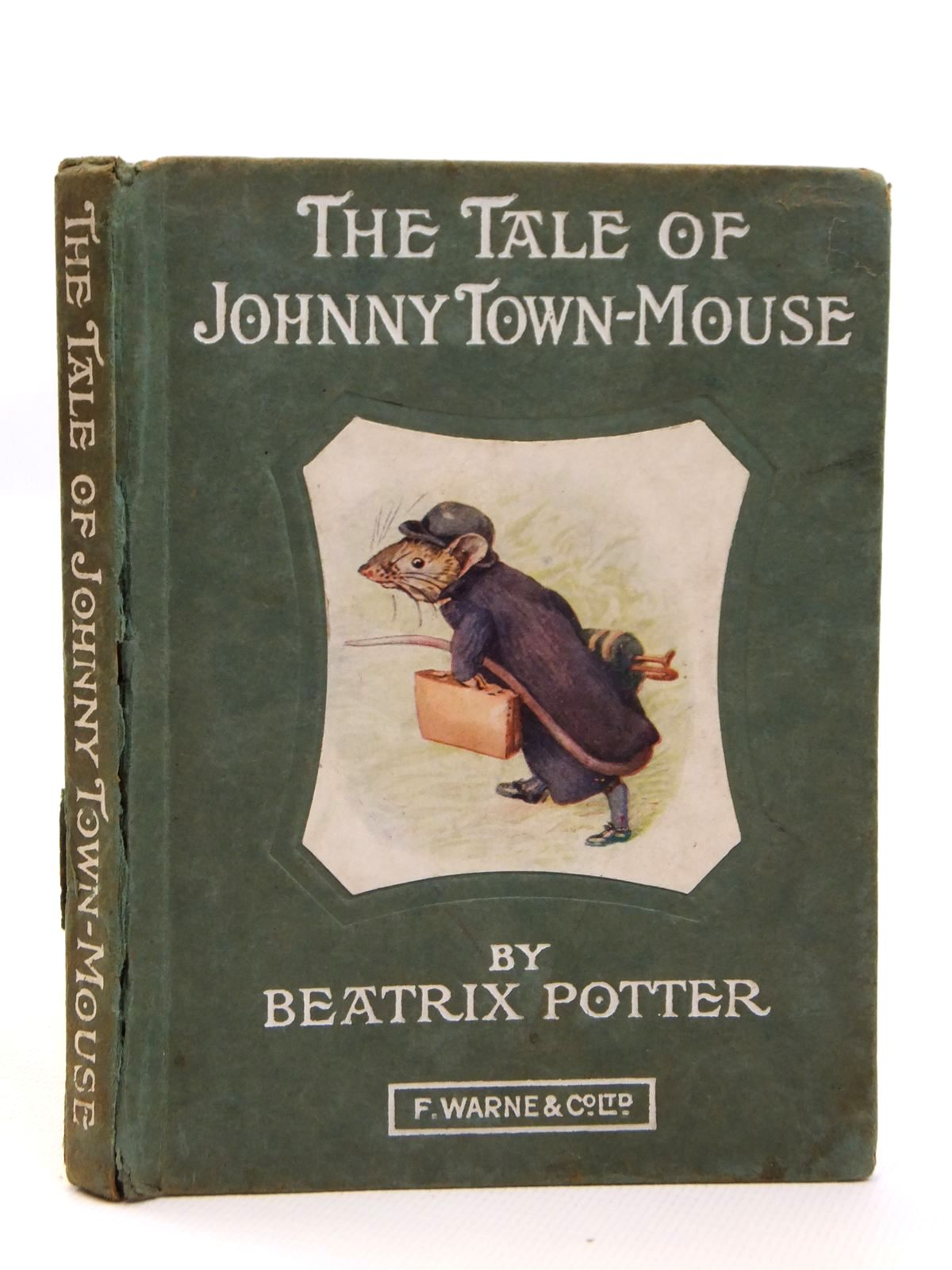 Photo of THE TALE OF JOHNNY TOWN-MOUSE written by Potter, Beatrix illustrated by Potter, Beatrix published by Frederick Warne & Co. (STOCK CODE: 2121591)  for sale by Stella & Rose's Books