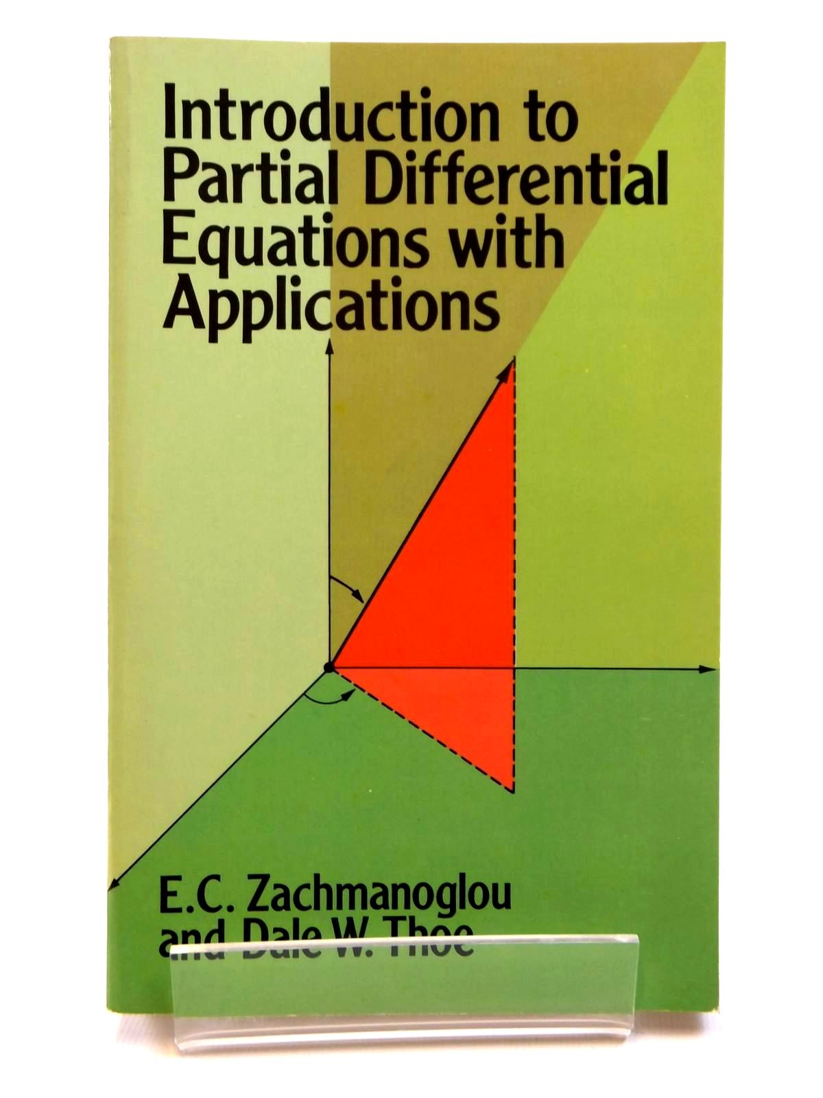 Photo of INTRODUCTION TO PARITAL DIFFERENTIAL EQUATIONS WITH APPLICATIONS written by Zachmanoglou, E.C. Thoe, Dale W. published by Dover Publications Inc. (STOCK CODE: 2121673)  for sale by Stella & Rose's Books