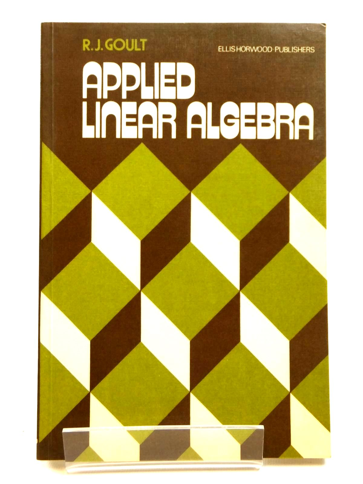 Photo of APPLIED LINEAR ALGEBRA- Stock Number: 2121676