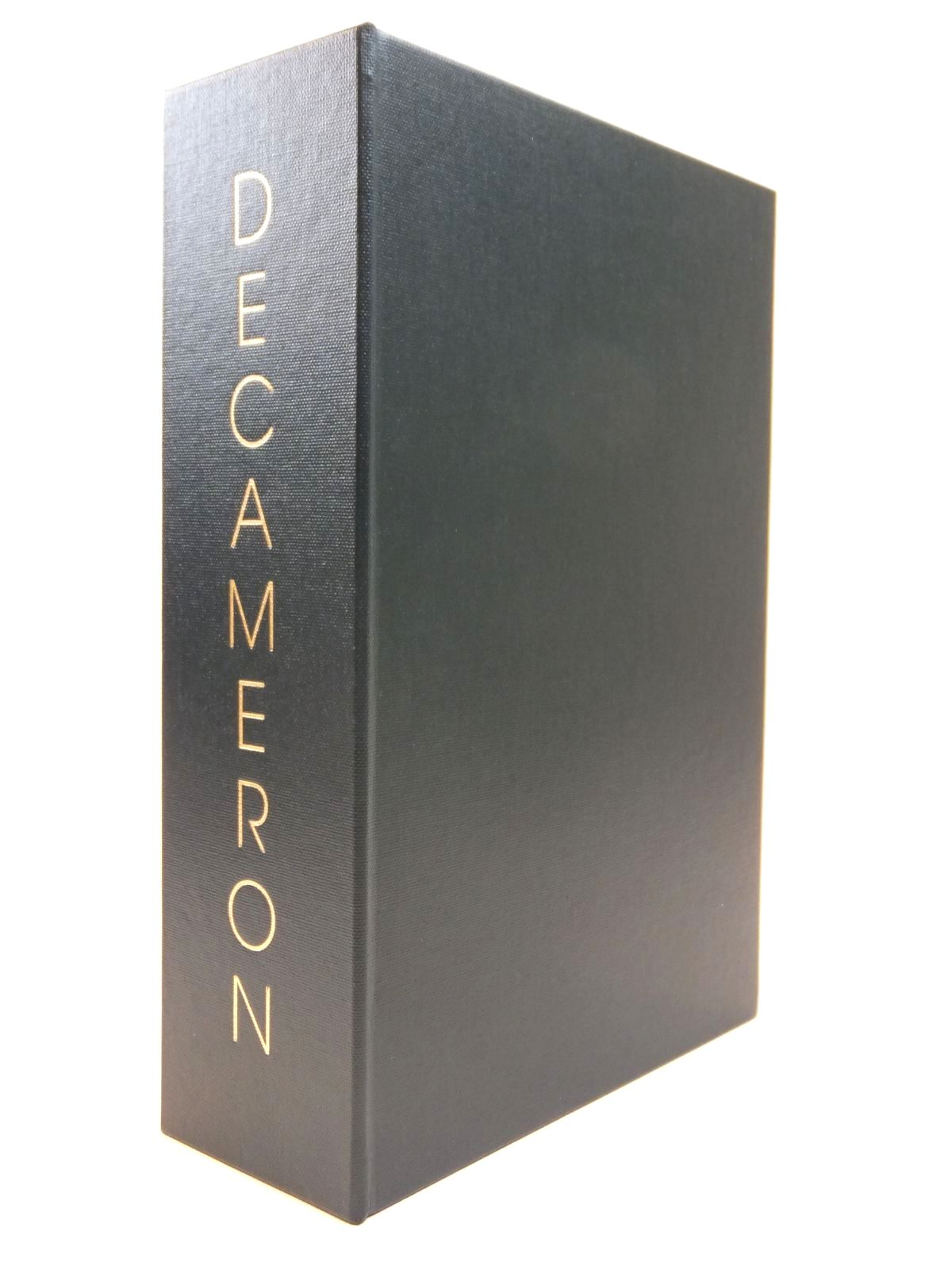 Photo of THE DECAMERON OF GIOVANNI BOCCACCIO written by Boccaccio, Giovanni Aldington, Richard illustrated by Buckland-Wright, John published by Folio Society (STOCK CODE: 2121848)  for sale by Stella & Rose's Books