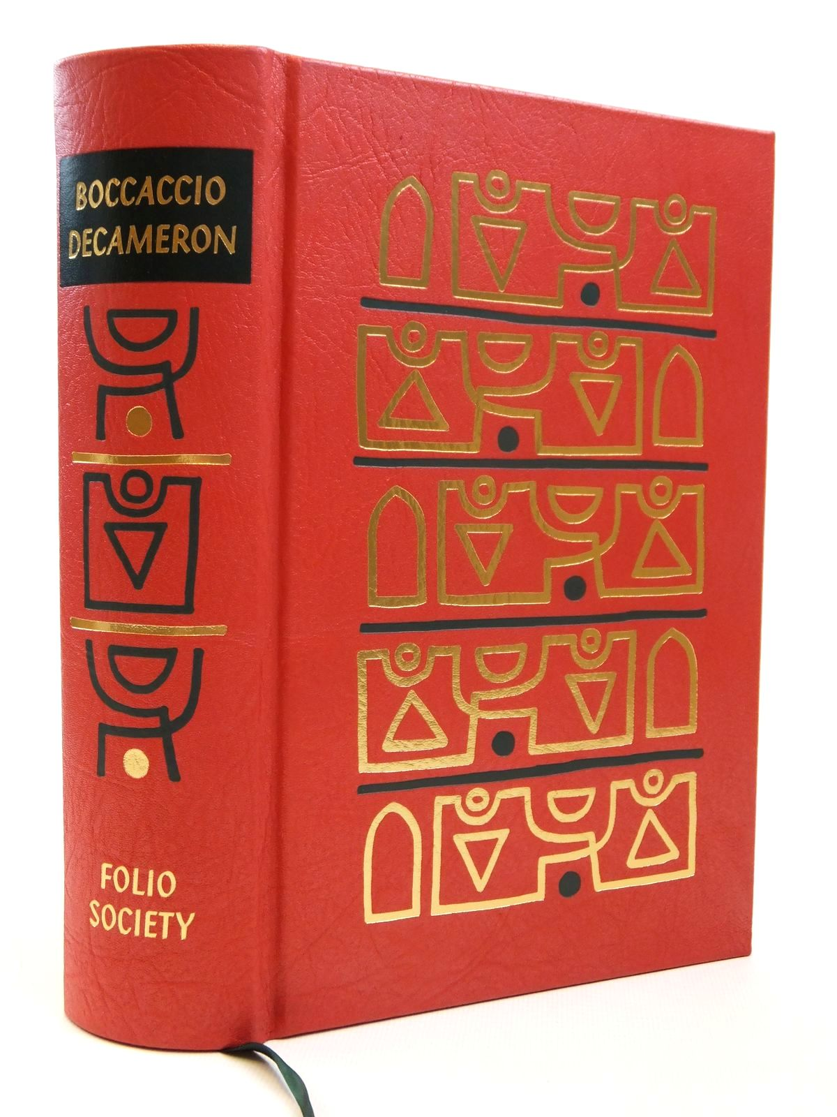 Photo of THE DECAMERON OF GIOVANNI BOCCACCIO written by Boccaccio, Giovanni