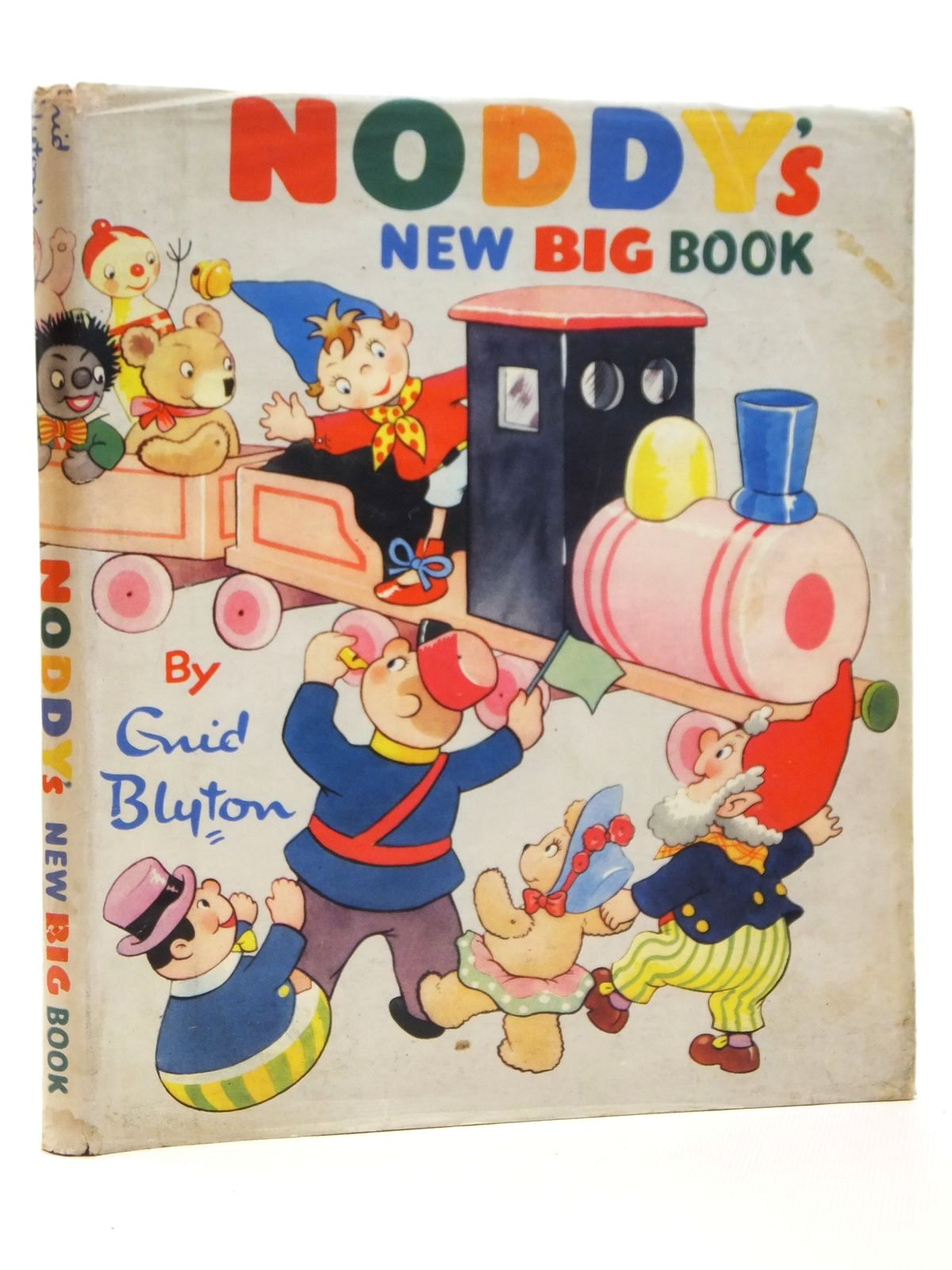 Photo of NODDY'S NEW BIG BOOK written by Blyton, Enid published by Sampson Low, Marston & Co. Ltd., D.V. Publications Ltd. (STOCK CODE: 2121903)  for sale by Stella & Rose's Books