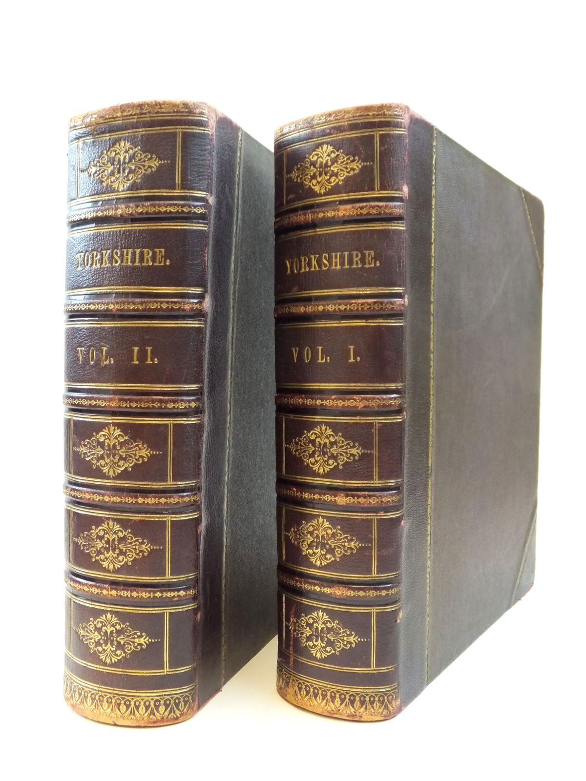 Photo of YORKSHIRE PAST AND PRESENT (2 VOLUMES) written by Baines, Thomas Baines, Edward published by William Mackenzie (STOCK CODE: 2121939)  for sale by Stella & Rose's Books