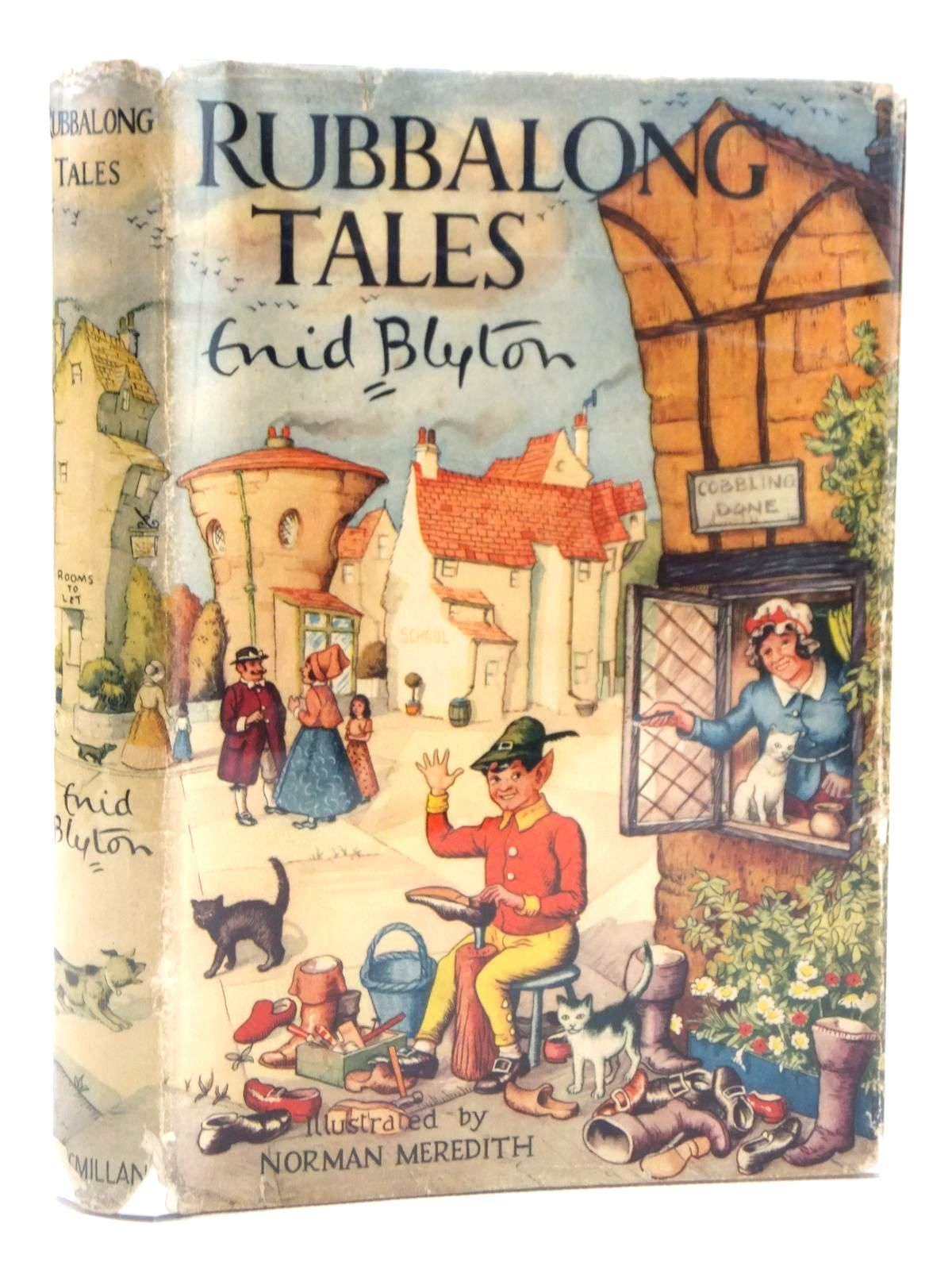 Photo of RUBBALONG TALES written by Blyton, Enid illustrated by Meredith, Norman published by Macmillan & Co. Ltd. (STOCK CODE: 2122039)  for sale by Stella & Rose's Books