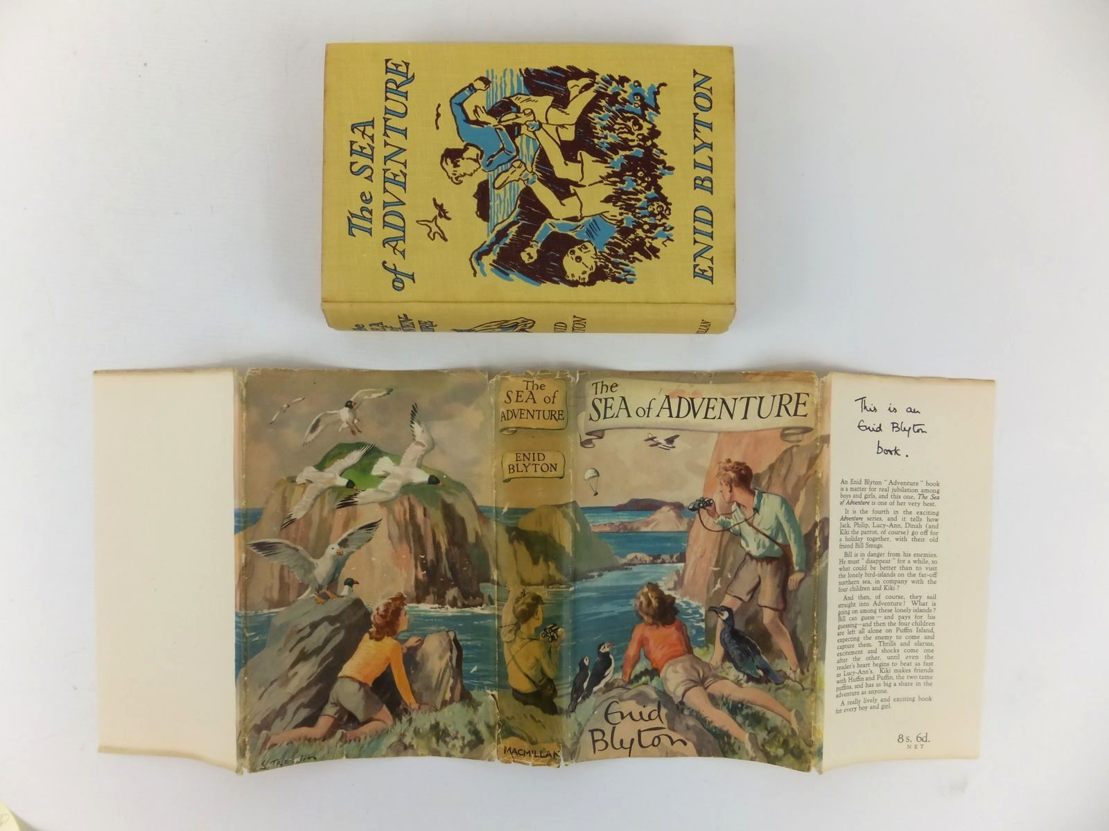 Photo of THE SEA OF ADVENTURE written by Blyton, Enid illustrated by Tresilian, Stuart published by Macmillan & Co. Ltd. (STOCK CODE: 2122049)  for sale by Stella & Rose's Books