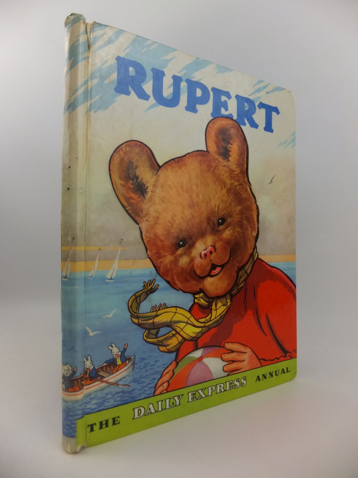 Photo of RUPERT ANNUAL 1959 written by Bestall, Alfred illustrated by Bestall, Alfred published by Daily Express (STOCK CODE: 2122153)  for sale by Stella & Rose's Books