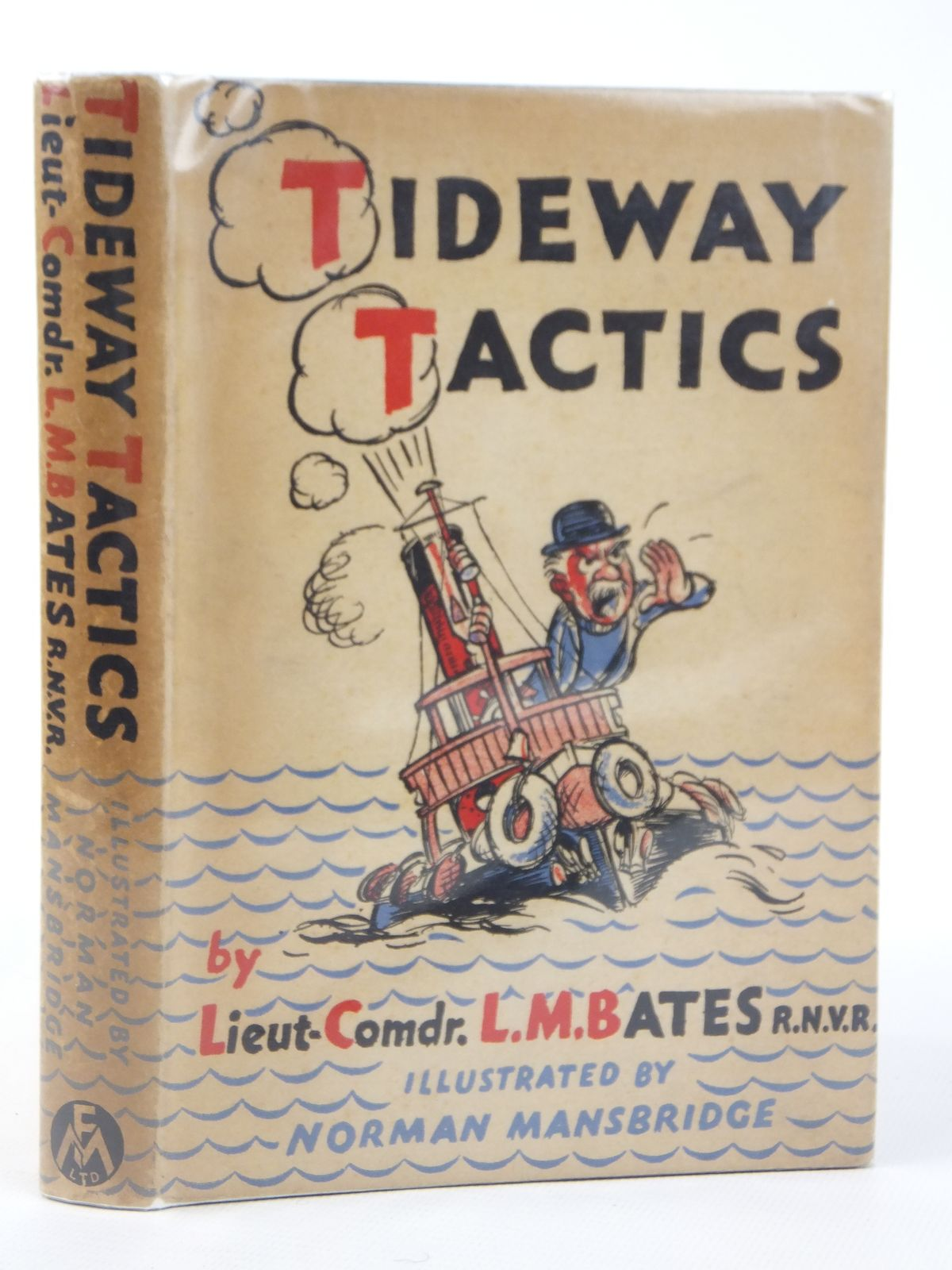 Photo of TIDEWAY TACTICS written by Bates, L.M. illustrated by Mansbridge, Norman published by Frederick Muller Ltd. (STOCK CODE: 2122189)  for sale by Stella & Rose's Books