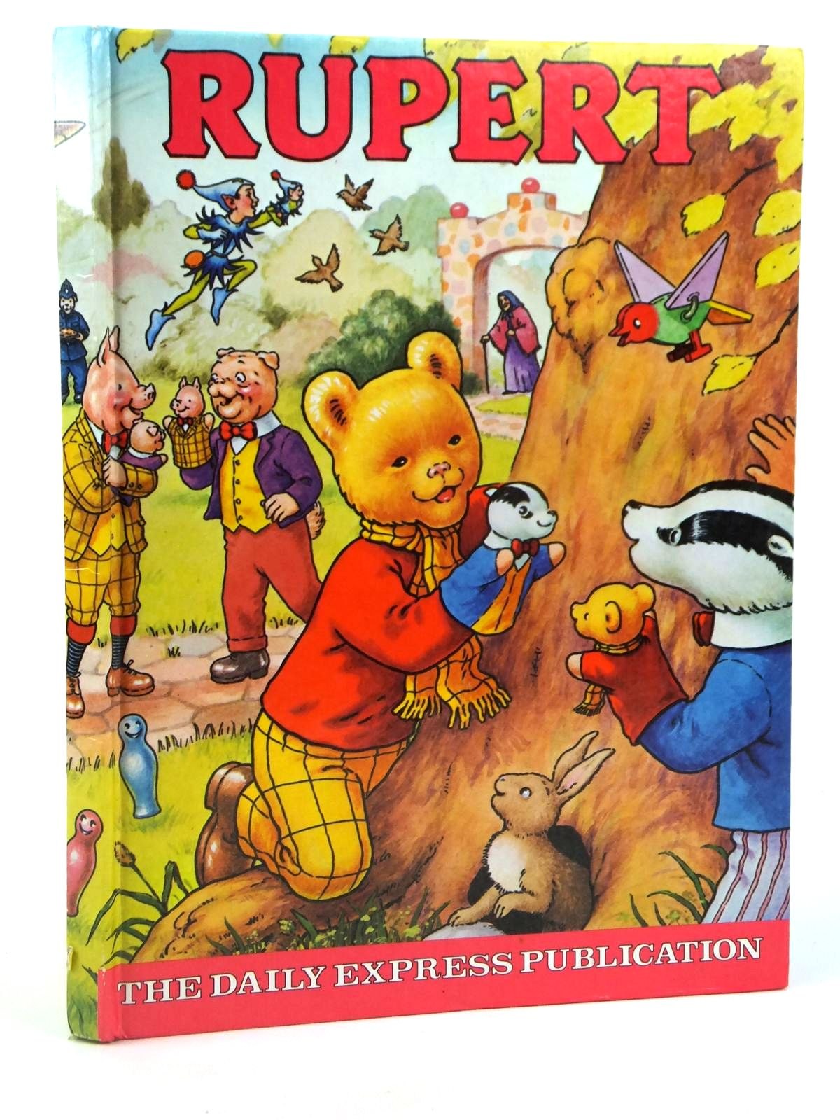 Photo of RUPERT ANNUAL 1980 illustrated by Harrold, John published by Express Newspapers Ltd. (STOCK CODE: 2122223)  for sale by Stella & Rose's Books