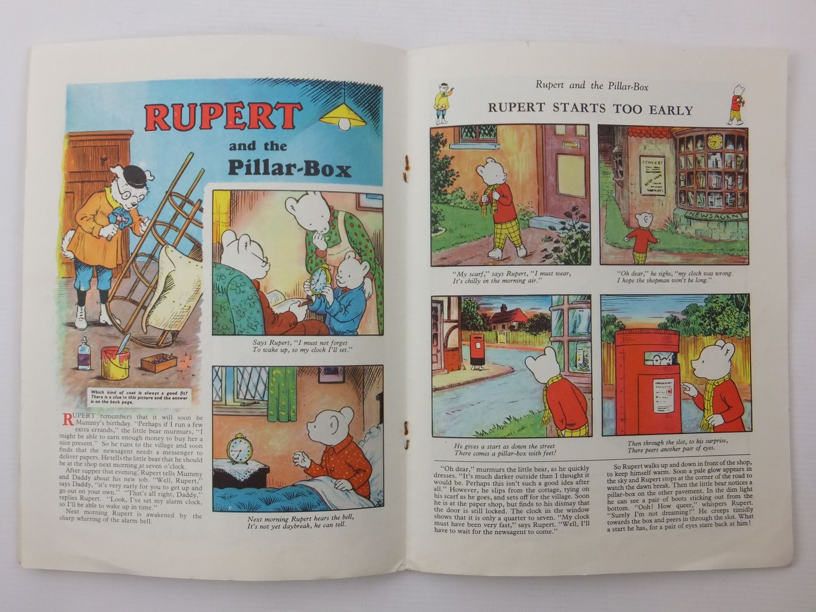 Photo of RUPERT ADVENTURE BOOK No. 45 written by Bestall, Alfred published by Daily Express (STOCK CODE: 2122238)  for sale by Stella & Rose's Books
