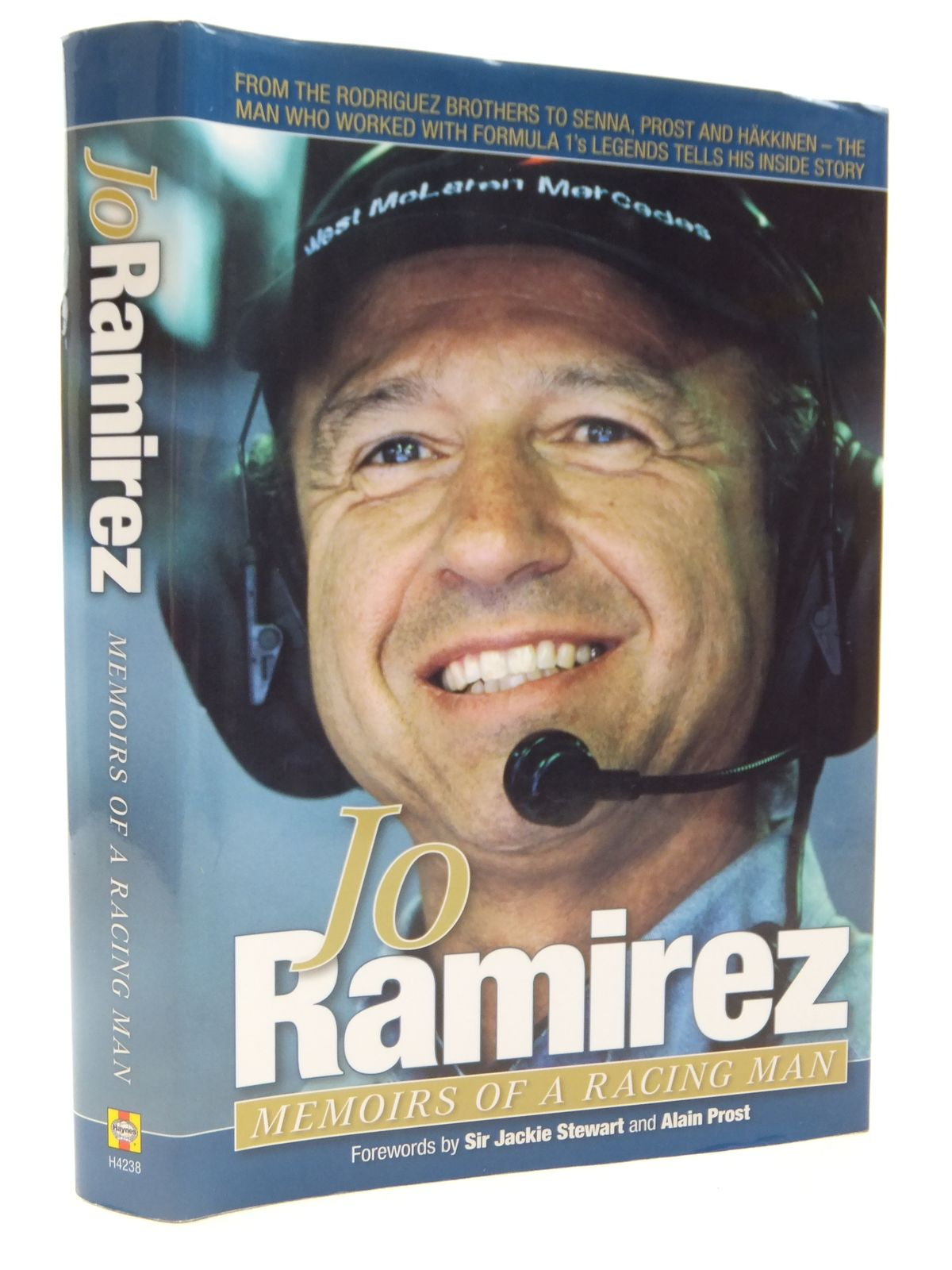 Photo of JO RAMIREZ MEMOIRS OF A RACING MAN written by Ramirez, Jo Stewart, Jackie Prost, Alain published by Haynes (STOCK CODE: 2122255)  for sale by Stella & Rose's Books