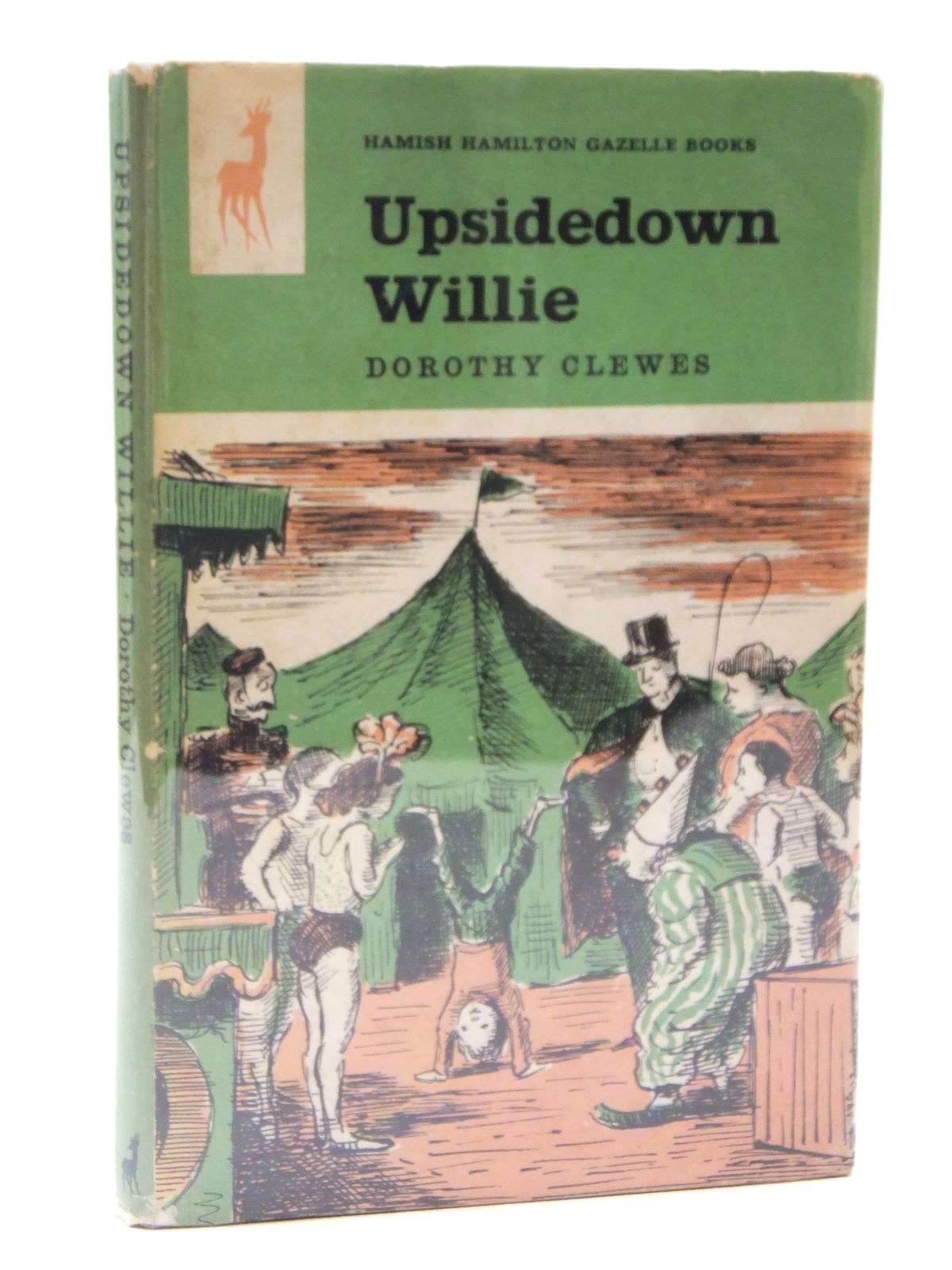 Photo of UPSIDEDOWN WILLIE written by Clewes, Dorothy illustrated by Ardizzone, Edward published by Hamish Hamilton (STOCK CODE: 2122271)  for sale by Stella & Rose's Books