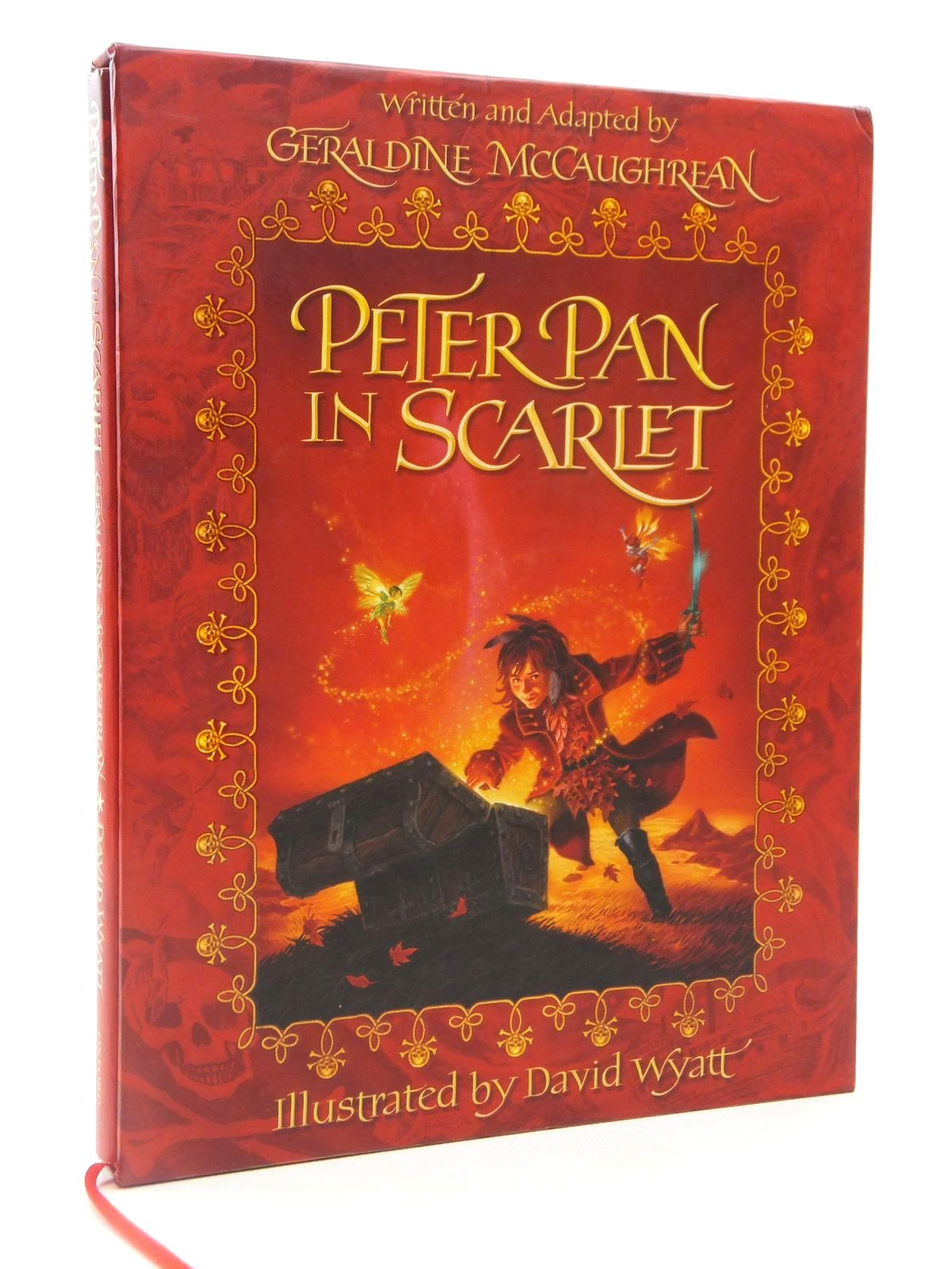 Photo of PETER PAN IN SCARLET written by McCaughrean, Geraldine illustrated by Wyatt, David published by Oxford University Press (STOCK CODE: 2122300)  for sale by Stella & Rose's Books