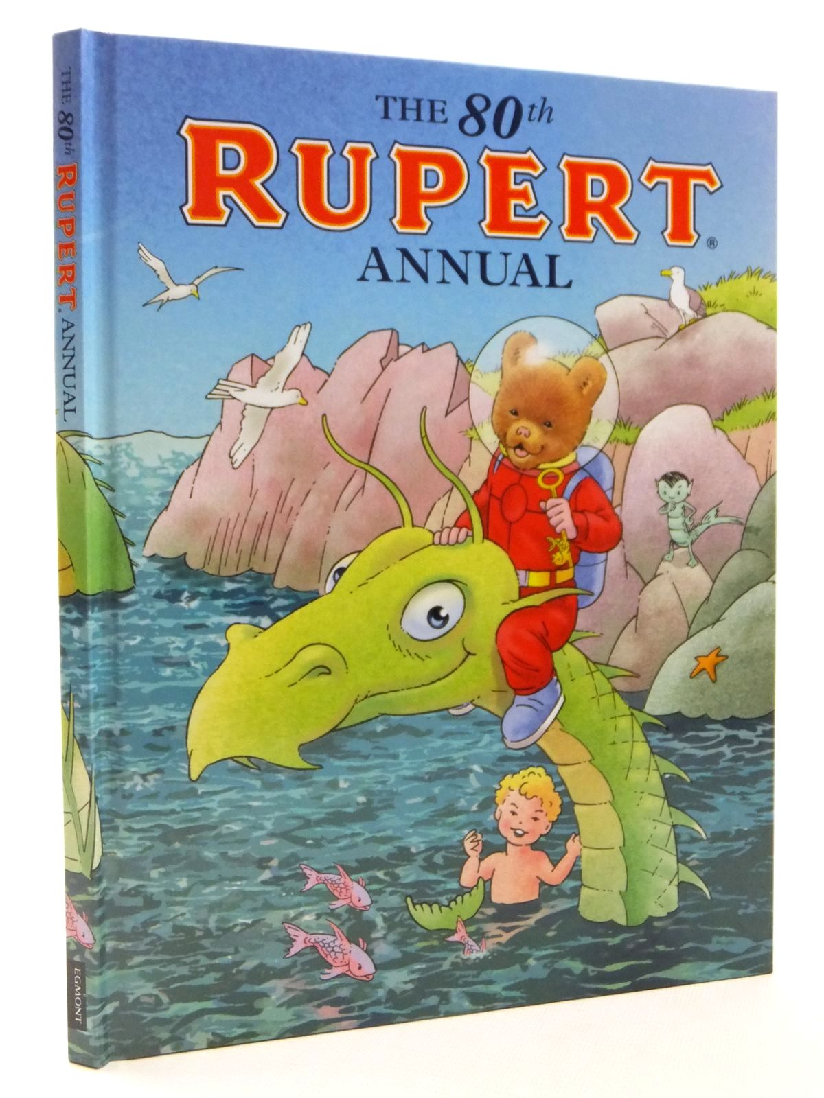 Photo of RUPERT ANNUAL 2015 written by Milton, Stephanie illustrated by Trotter, Stuart<br />Harrold, John<br />Bestall, Alfred published by Egmont Uk Limited (STOCK CODE: 2122340)  for sale by Stella & Rose's Books