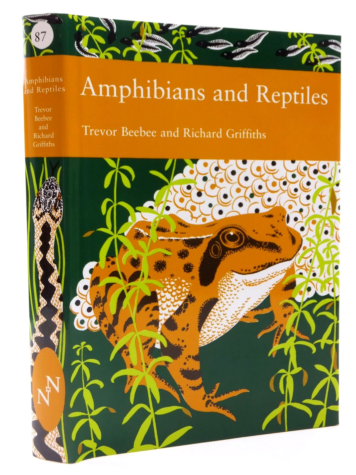 Photo of AMPHIBIANS AND REPTILES (NN 87) written by Beebee, Trevor J.C.
