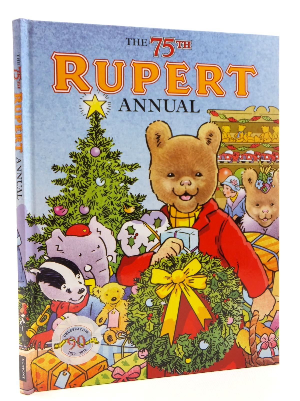 Photo of RUPERT ANNUAL 2010 written by Trotter, Stuart published by Egmont Books Ltd. (STOCK CODE: 2122391)  for sale by Stella & Rose's Books