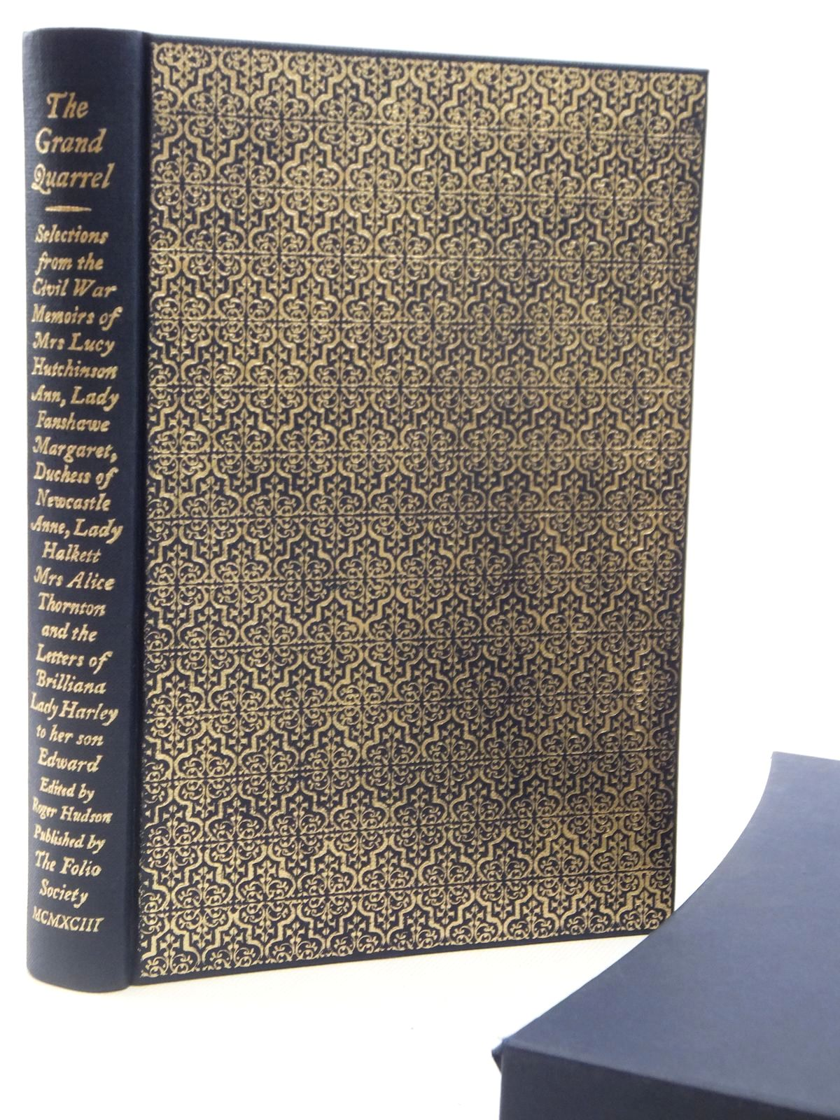 Photo of THE GRAND QUARREL written by Hutchinson, Lucy et al,  published by Folio Society (STOCK CODE: 2122518)  for sale by Stella & Rose's Books