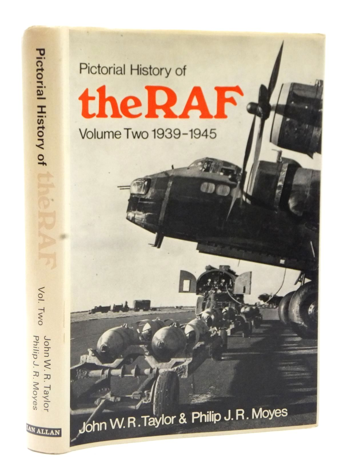 Photo of PICTORIAL HISTORY OF THE RAF VOLUME TWO 1939-1945 written by Taylor, John W.R. Moyes, Philip J.R. published by Ian Allan (STOCK CODE: 2122615)  for sale by Stella & Rose's Books