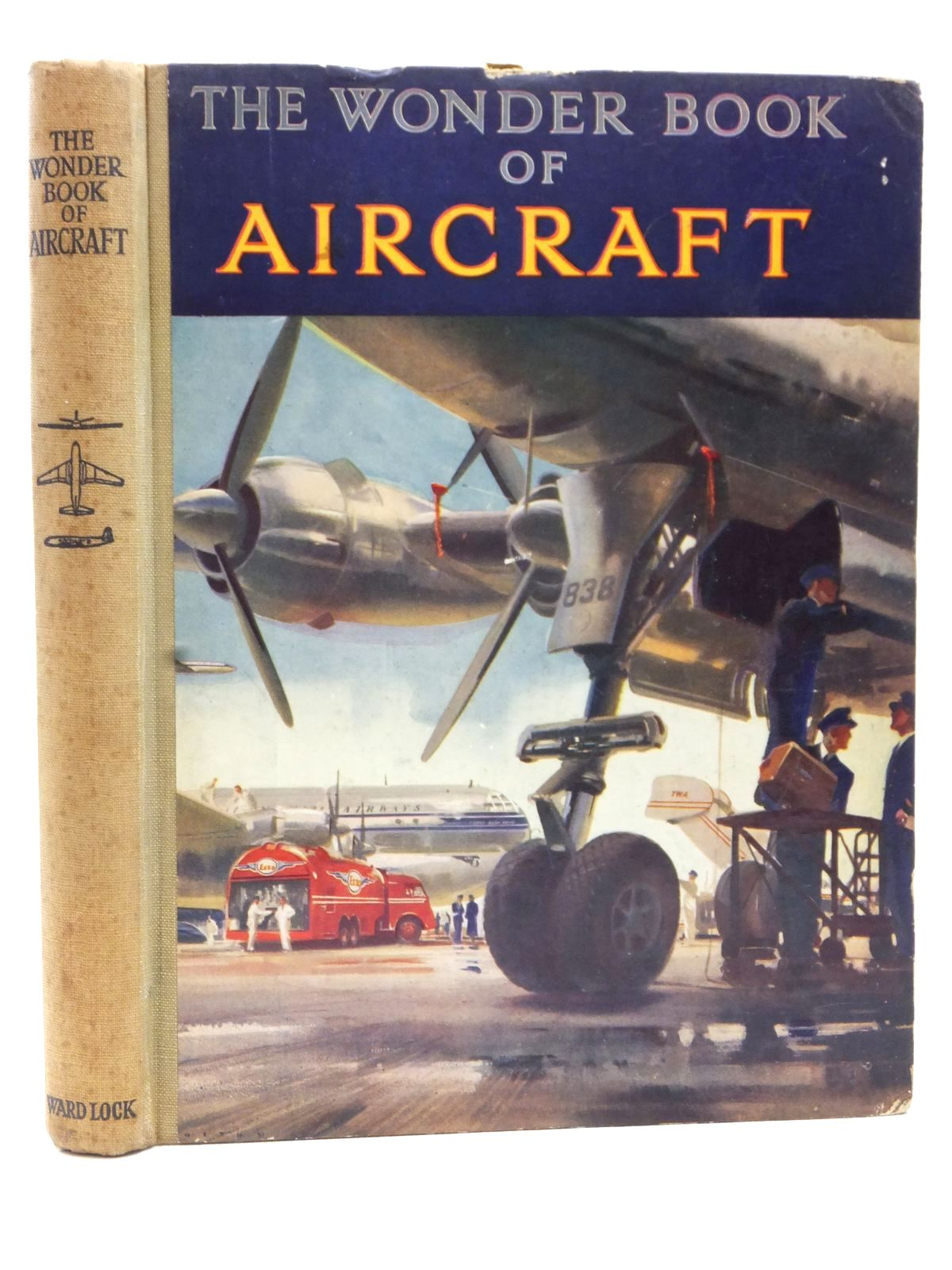 Photo of THE WONDER BOOK OF AIRCRAFT published by Ward Lock & Co Ltd. (STOCK CODE: 2122722)  for sale by Stella & Rose's Books