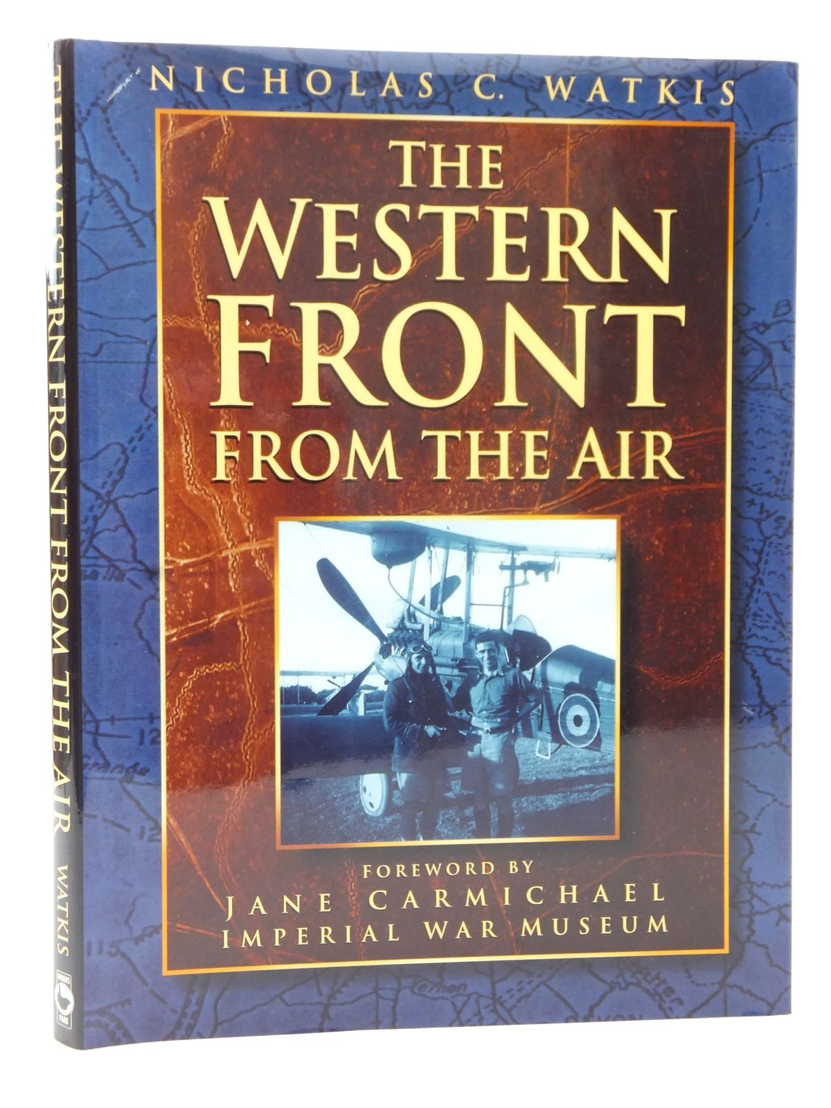 Photo of THE WESTERN FRONT FROM THE AIR written by Watkis, Nicholas C.