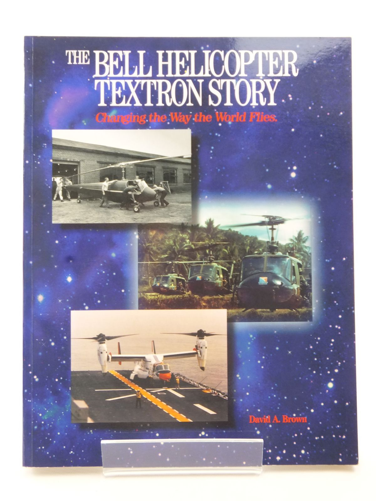 Photo of THE BELL HELICOPTER TEXTRON STORY written by Brown, David A. published by Aerofax (STOCK CODE: 2122944)  for sale by Stella & Rose's Books