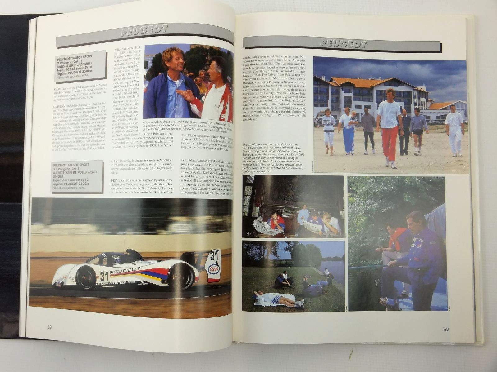 Photo of 1992 LE MANS 24 HOURS written by Teissedre, Jean-Marc<br />Moity, Christian published by P.B.S. (STOCK CODE: 2122954)  for sale by Stella & Rose's Books