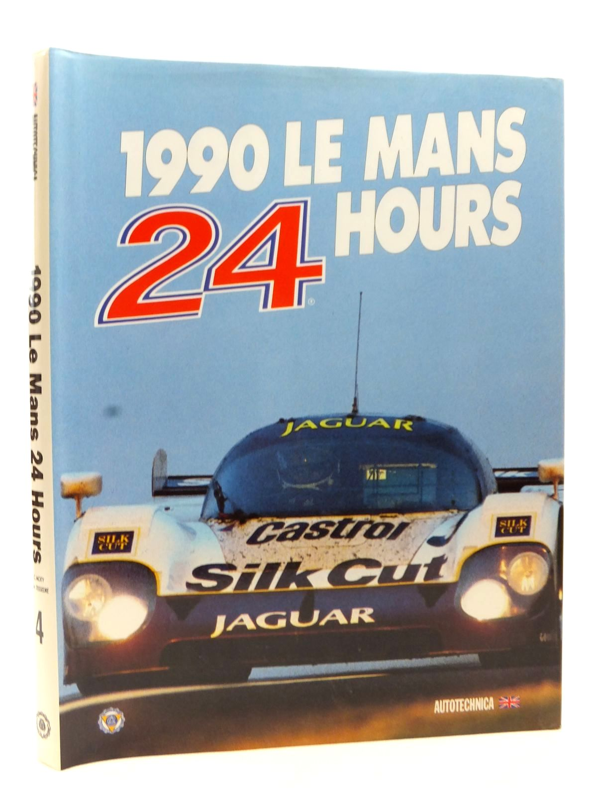Photo of 1990 LE MANS 24 HOURS written by Teissedre, Jean-Marc Moity, Christian published by Autotechnica (STOCK CODE: 2122962)  for sale by Stella & Rose's Books