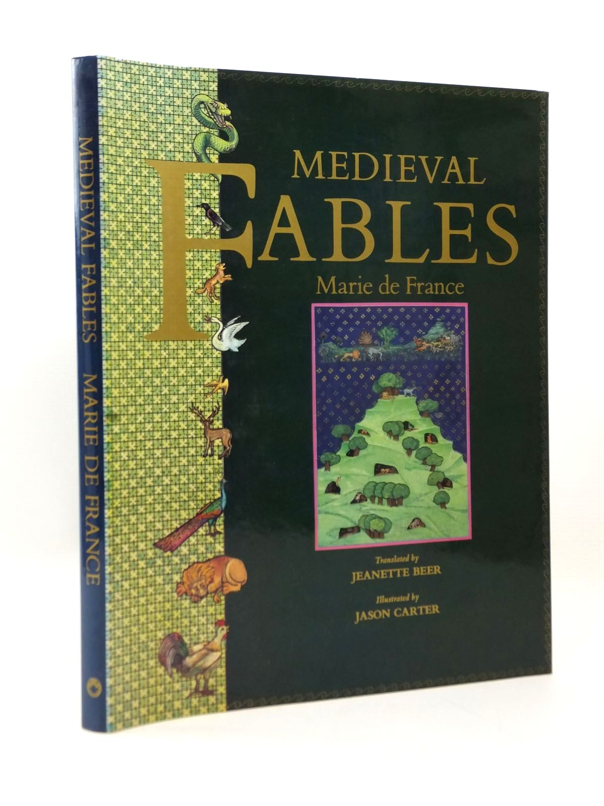 Photo of MEDIEVAL FABLES written by De France, Marie Beer, Jeanette illustrated by Carter, Jason published by Dragon's World, A.H. & A.W. Reed (STOCK CODE: 2123264)  for sale by Stella & Rose's Books