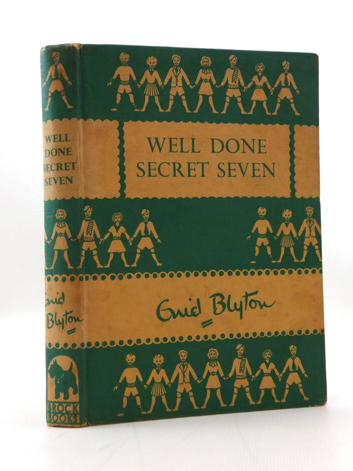 Photo of WELL DONE SECRET SEVEN written by Blyton, Enid illustrated by Brook, George published by Brockhampton Press Ltd. (STOCK CODE: 2123325)  for sale by Stella & Rose's Books