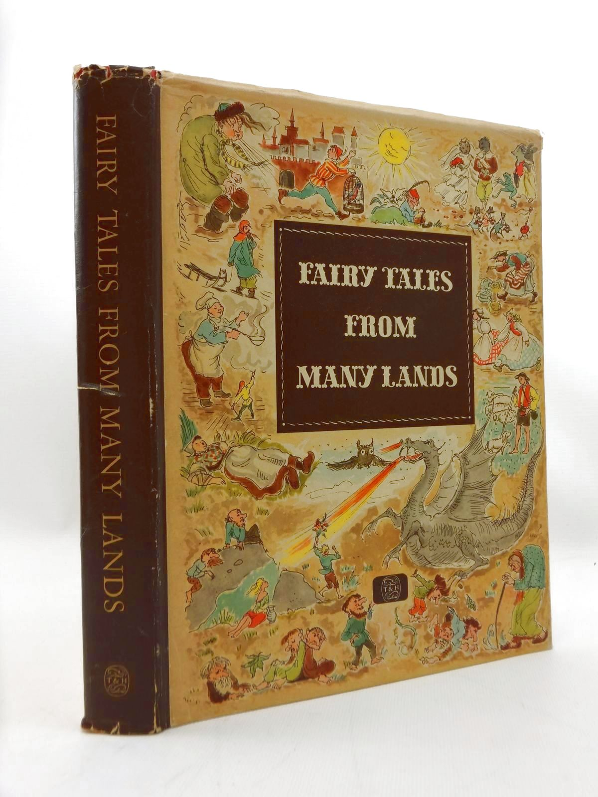Photo of FAIRY TALES FROM MANY LANDS written by Herda, H. illustrated by Grossmann, Gerhard Koeppen, Hilde Wendorff-Weidt, Ursula published by Thames and Hudson (STOCK CODE: 2123411)  for sale by Stella & Rose's Books