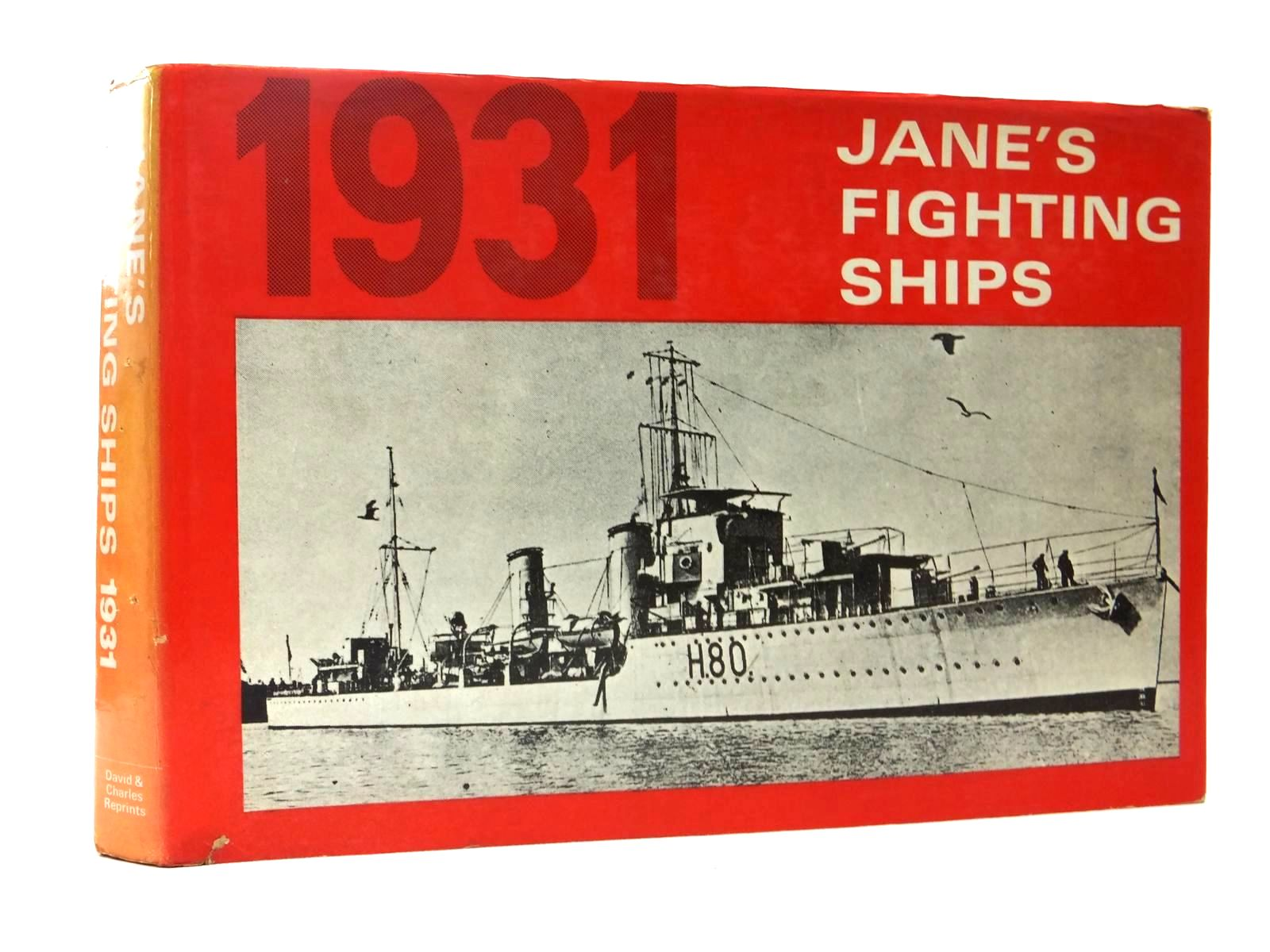 Photo of JANE'S FIGHTING SHIPS 1931 written by Jane, Fred T.