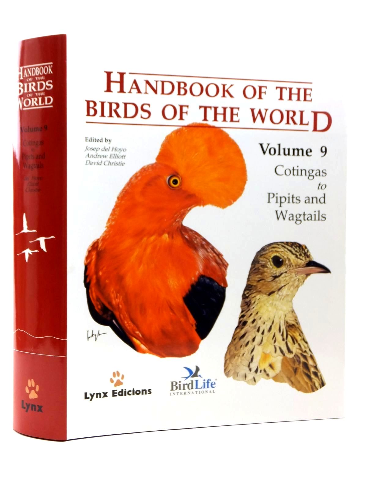 Photo of HANDBOOK OF THE BIRDS OF THE WORLD VOLUME 9: COTINGAS TO PIPITS AND WAGTAILS- Stock Number: 2123525