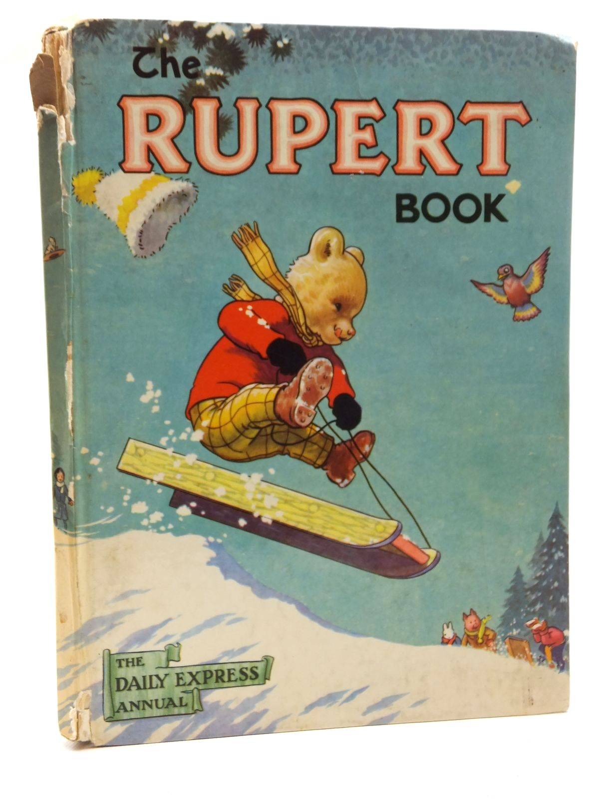 Photo of RUPERT ANNUAL 1956 - THE RUPERT BOOK- Stock Number: 2123543