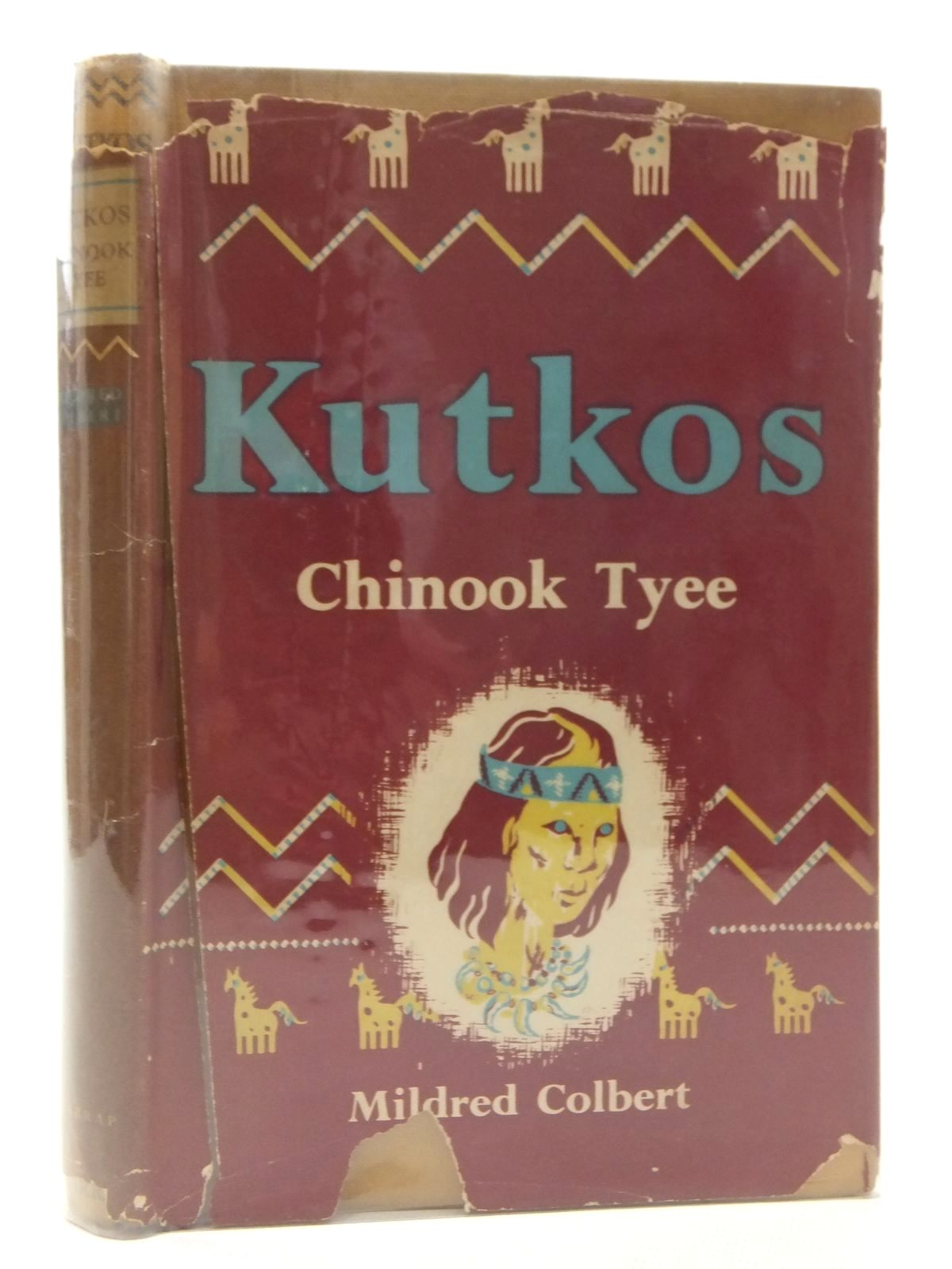 Photo of KUTKOS CHINOOK TYEE written by Colbert, Mildred illustrated by Williams, Keith Shaw published by D.C. Heath and Company (STOCK CODE: 2123586)  for sale by Stella & Rose's Books