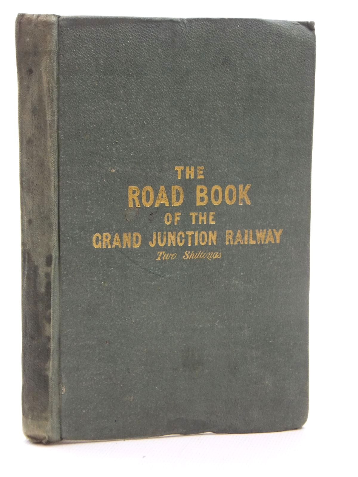 Photo of DRAKE'S ROAD BOOK OF THE GRAND JUNCTION RAILWAY, FROM LIVERPOOL & MANCHESTER TO BIRMINGHAM- Stock Number: 2123646
