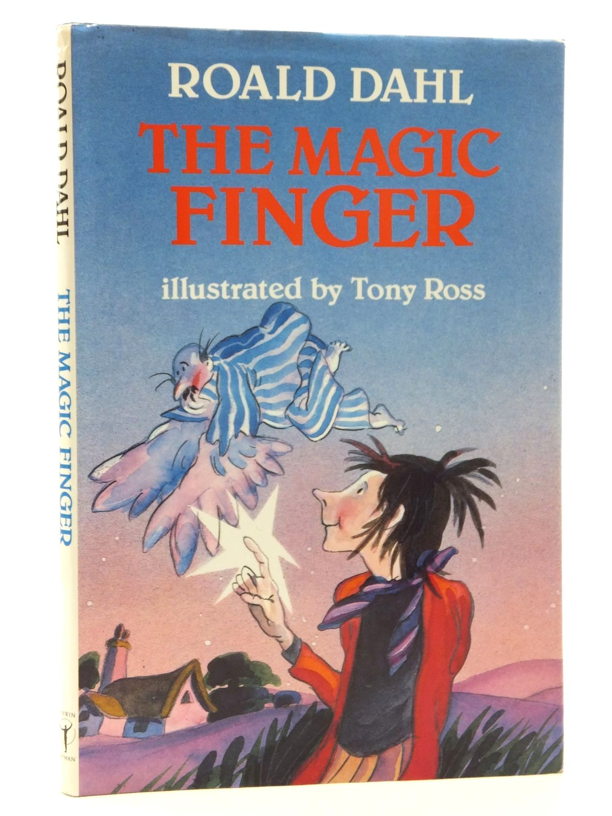 Photo of THE MAGIC FINGER written by Dahl, Roald illustrated by Ross, Tony published by Unwin Hyman (STOCK CODE: 2123720)  for sale by Stella & Rose's Books