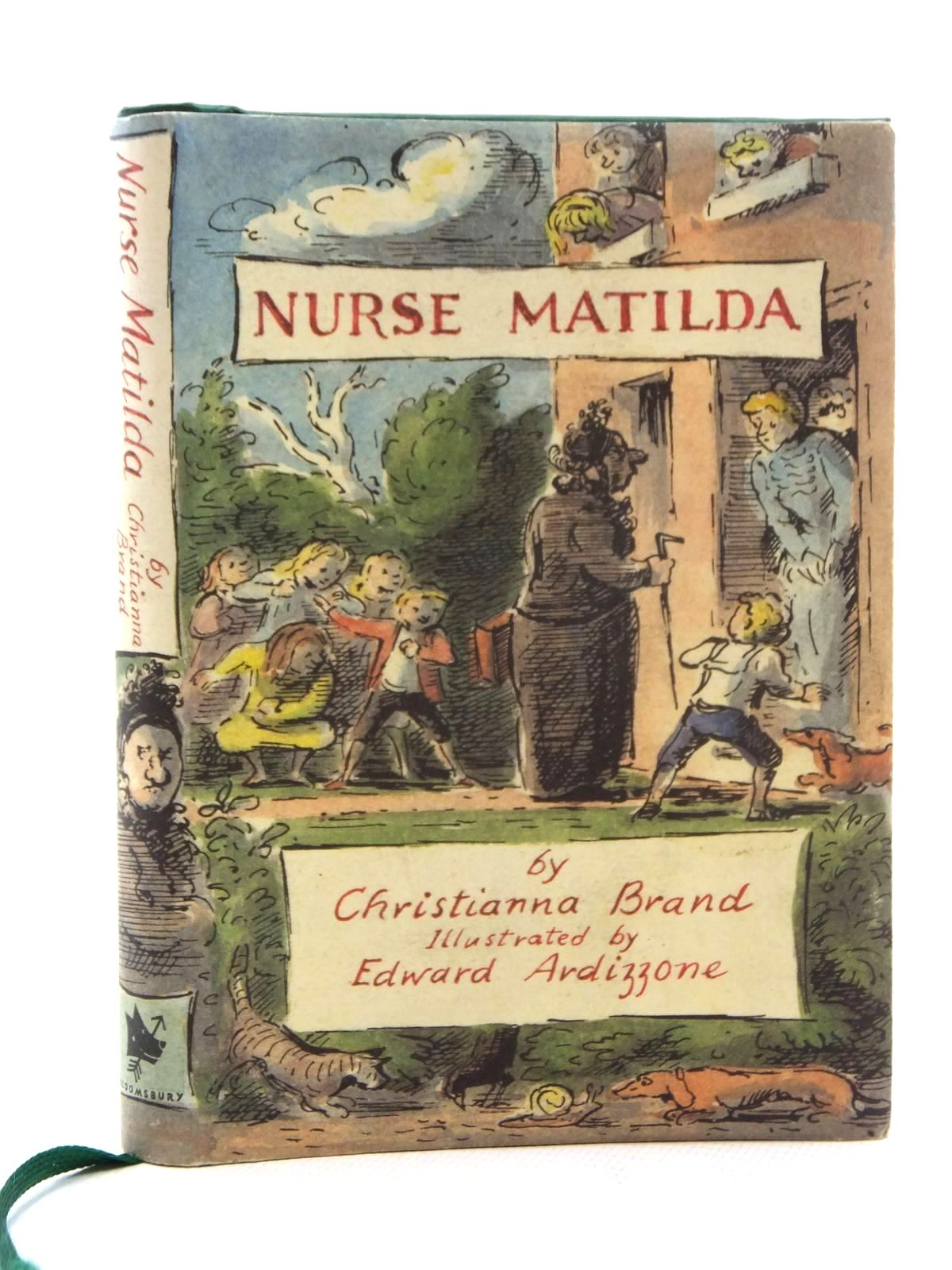 Photo of NURSE MATILDA written by Brand, Christianna illustrated by Ardizzone, Edward published by Bloomsbury Children's Books (STOCK CODE: 2123737)  for sale by Stella & Rose's Books