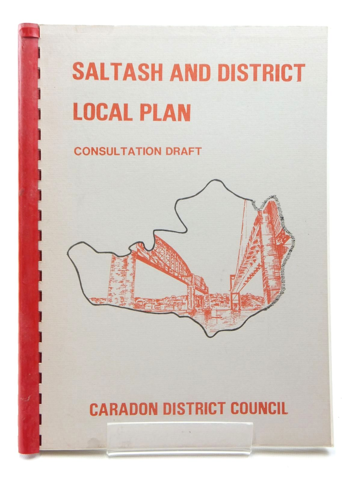 Photo of SALTASH AND DISTRICT LOCAL PLAN CONSULTATION DRAFT written by Hartridge, A. published by Caradon District Council (STOCK CODE: 2123775)  for sale by Stella & Rose's Books