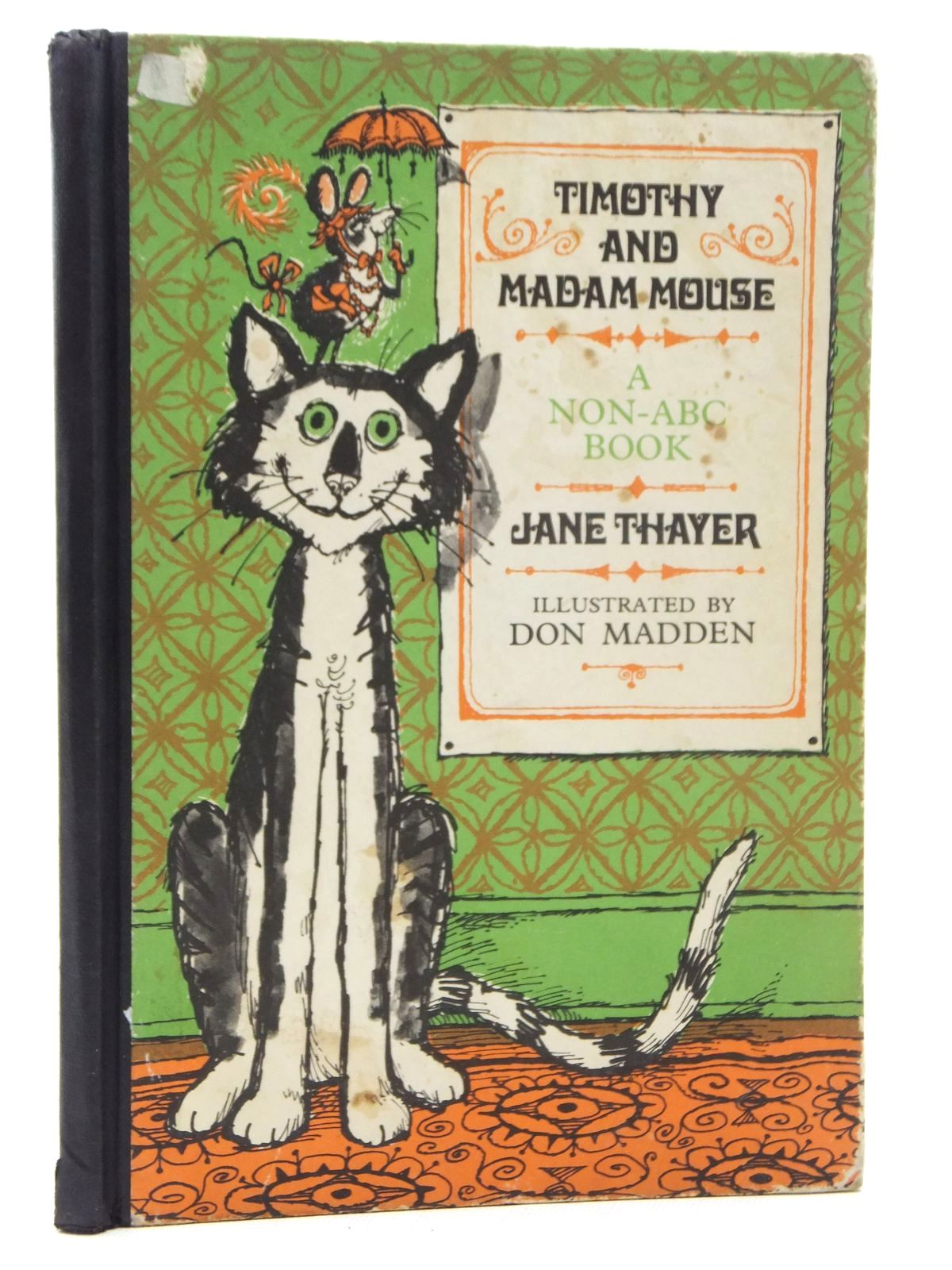 Photo of TIMOTHY AND MADAM MOUSE A NON-ABC BOOK written by Thayer, Jane illustrated by Madden, Don published by World's Work Ltd. (STOCK CODE: 2123794)  for sale by Stella & Rose's Books