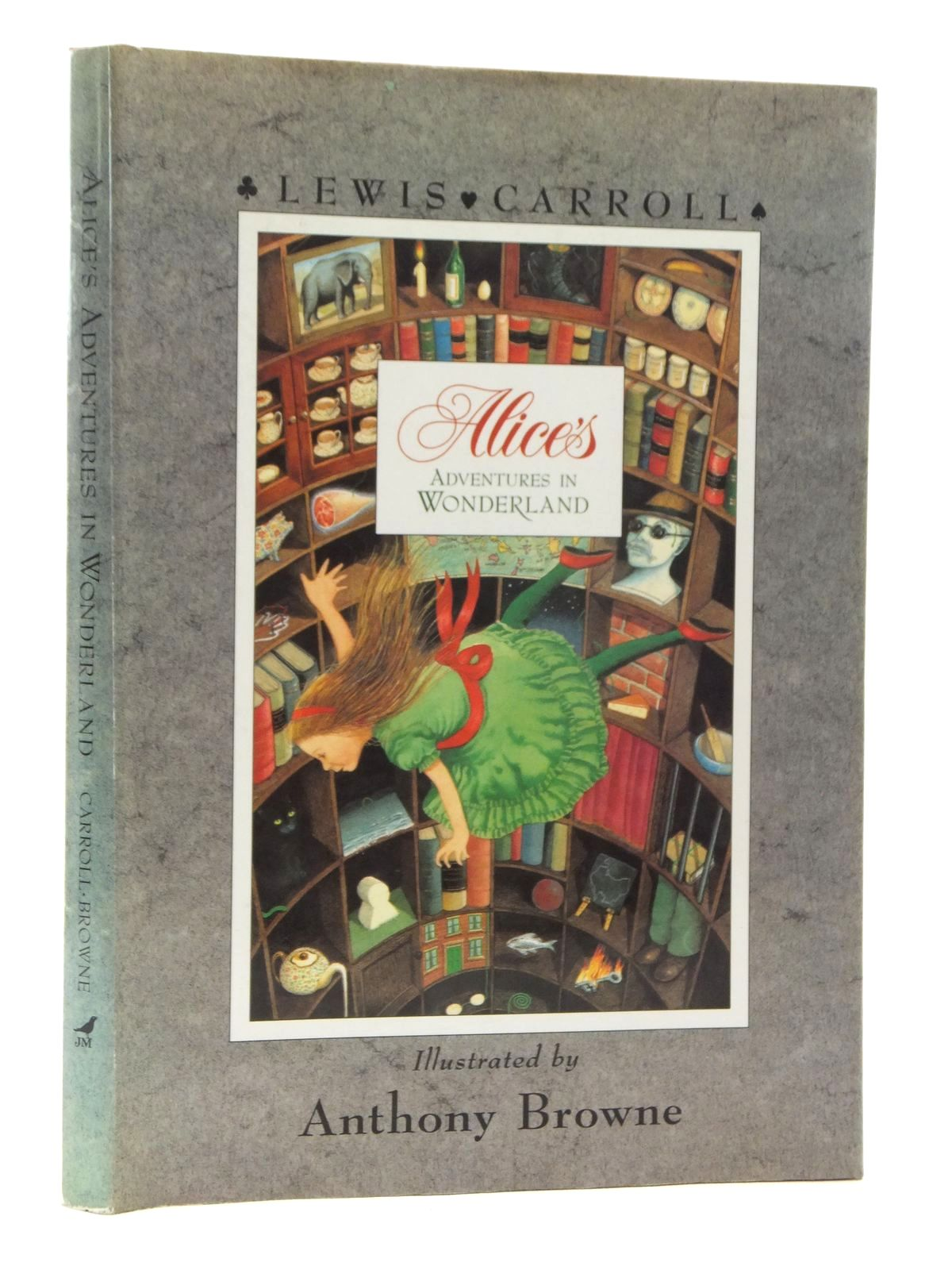 Photo of ALICE'S ADVENTURES IN WONDERLAND written by Carroll, Lewis illustrated by Browne, Anthony published by Julia MacRae Books (STOCK CODE: 2123797)  for sale by Stella & Rose's Books