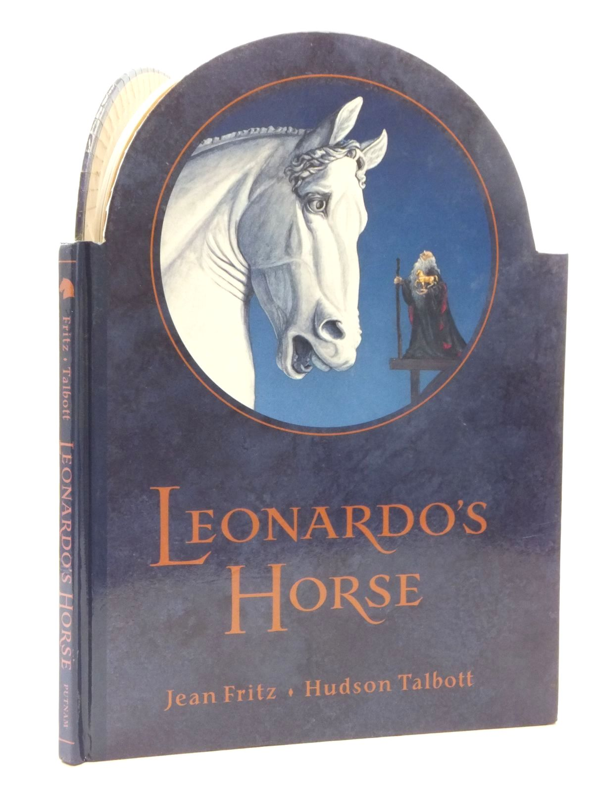 Photo of LEONARDO'S HORSE written by Fritz, Jean illustrated by Talbott, Hudson published by G.P. Putnam's Sons (STOCK CODE: 2123887)  for sale by Stella & Rose's Books