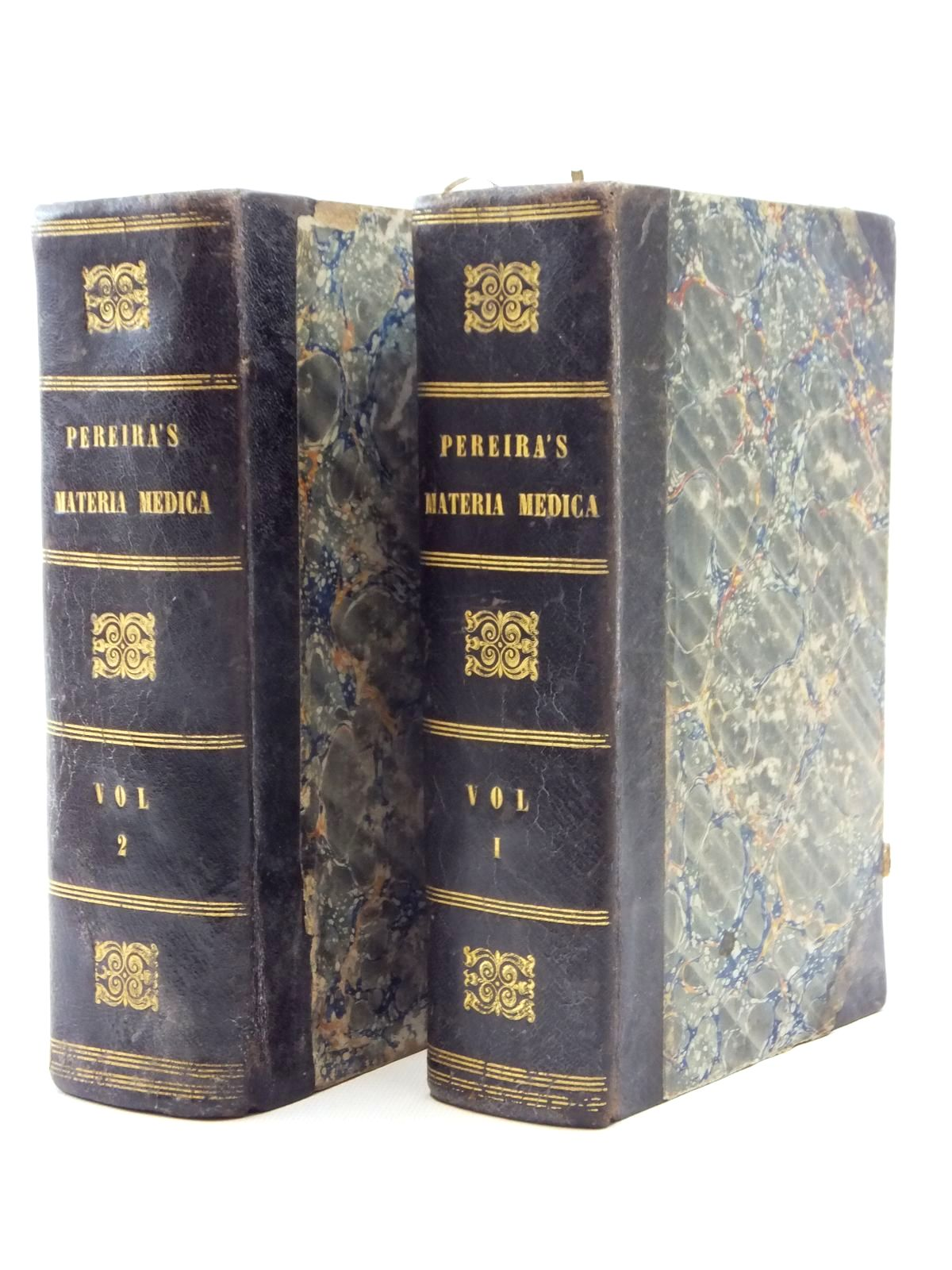 Photo of THE ELEMENTS OF MATERIA MEDICA AND THERAPEUTICS (2 VOLUMES)- Stock Number: 2123935