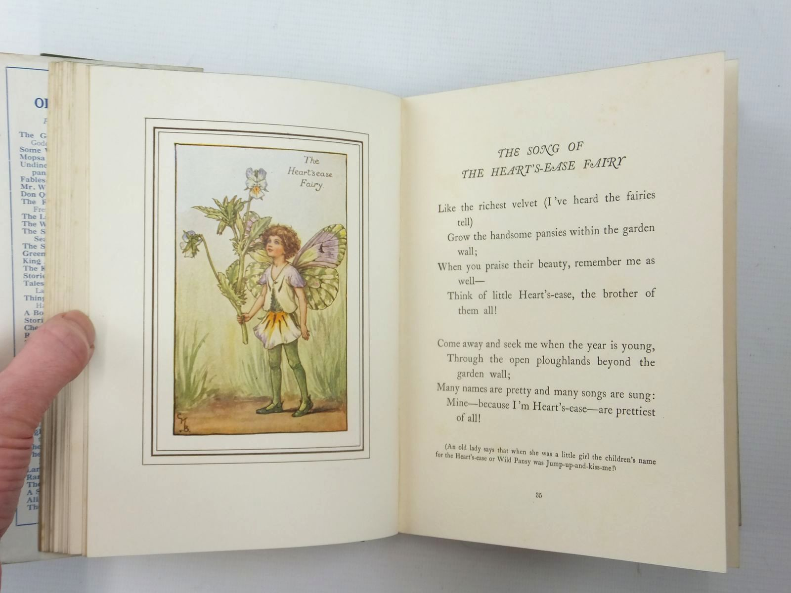 Photo of THE BOOK OF THE FLOWER FAIRIES written by Barker, Cicely Mary illustrated by Barker, Cicely Mary published by Blackie & Son Ltd. (STOCK CODE: 2123947)  for sale by Stella & Rose's Books