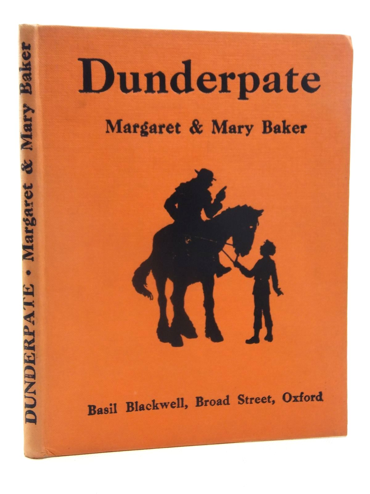 Photo of DUNDERPATE written by Baker, Margaret illustrated by Baker, Mary published by Basil Blackwell (STOCK CODE: 2123964)  for sale by Stella & Rose's Books
