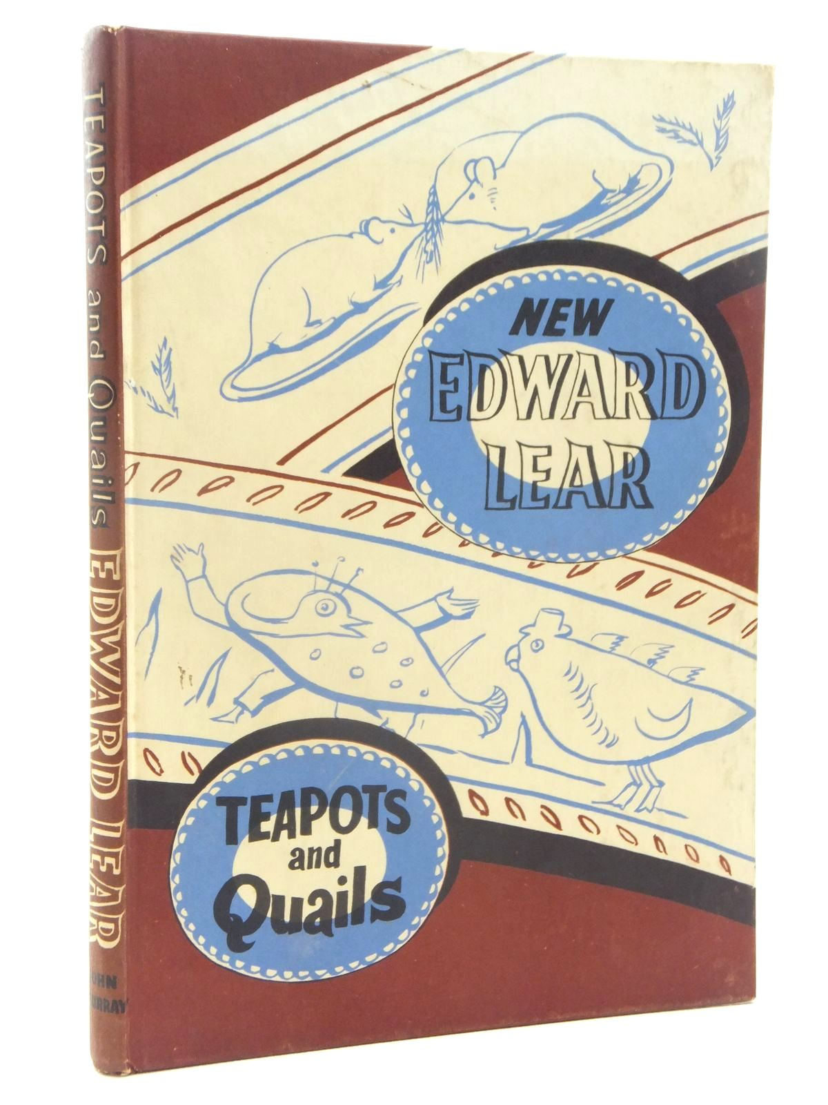 Photo of TEAPOTS AND QUAILS AND OTHER NEW NONSENSES written by Lear, Edward illustrated by Lear, Edward published by John Murray (STOCK CODE: 2123967)  for sale by Stella & Rose's Books