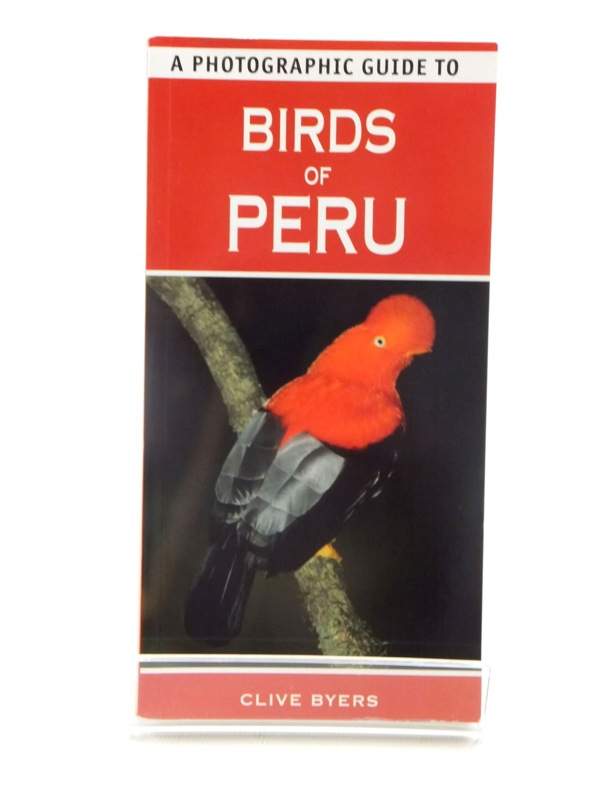 Photo of A PHOTOGRAPHIC GUIDE TO BIRDS OF PERU- Stock Number: 2124026